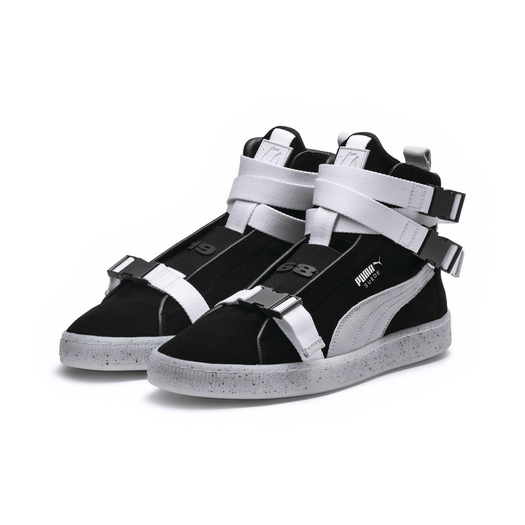 Lyst - PUMA X Xo Suede Classic Sneakers in Black for Men 29416b1bd