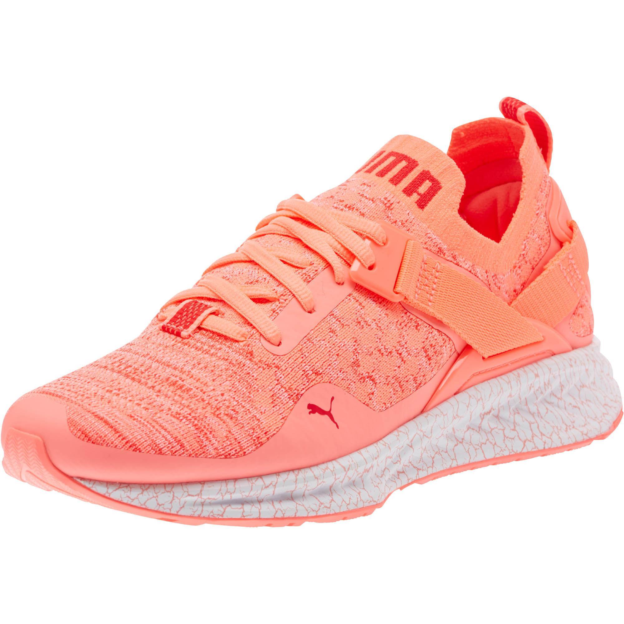 ef9e070be9b Lyst - PUMA Ignite Evoknit Lo Hypernature Women s Training Shoes in Red
