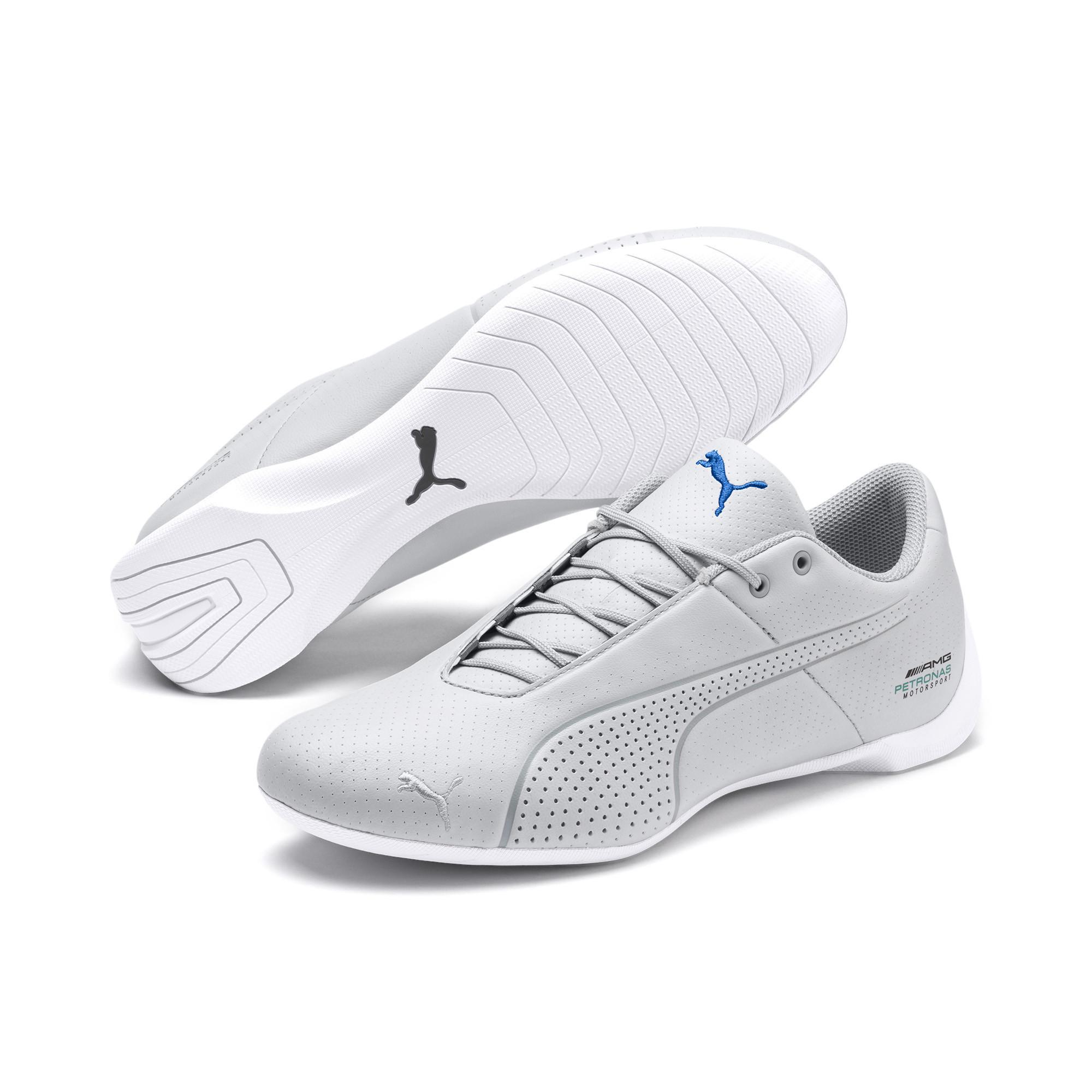 198dcd5930e17f Lyst - PUMA Mercedes Amg Petronas Future Cat Ultra Sneakers in White
