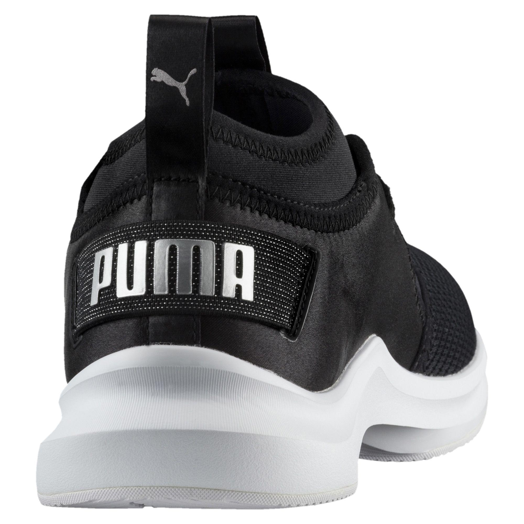 Lyst - PUMA Phenom Satin Low Ep Women s Training Shoes in Black e044a7ecc