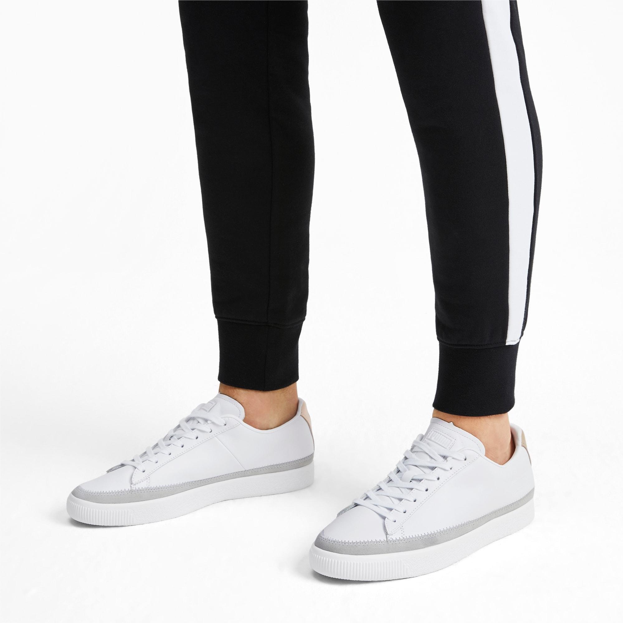PUMA Suede Basket Trim Block Sneakers
