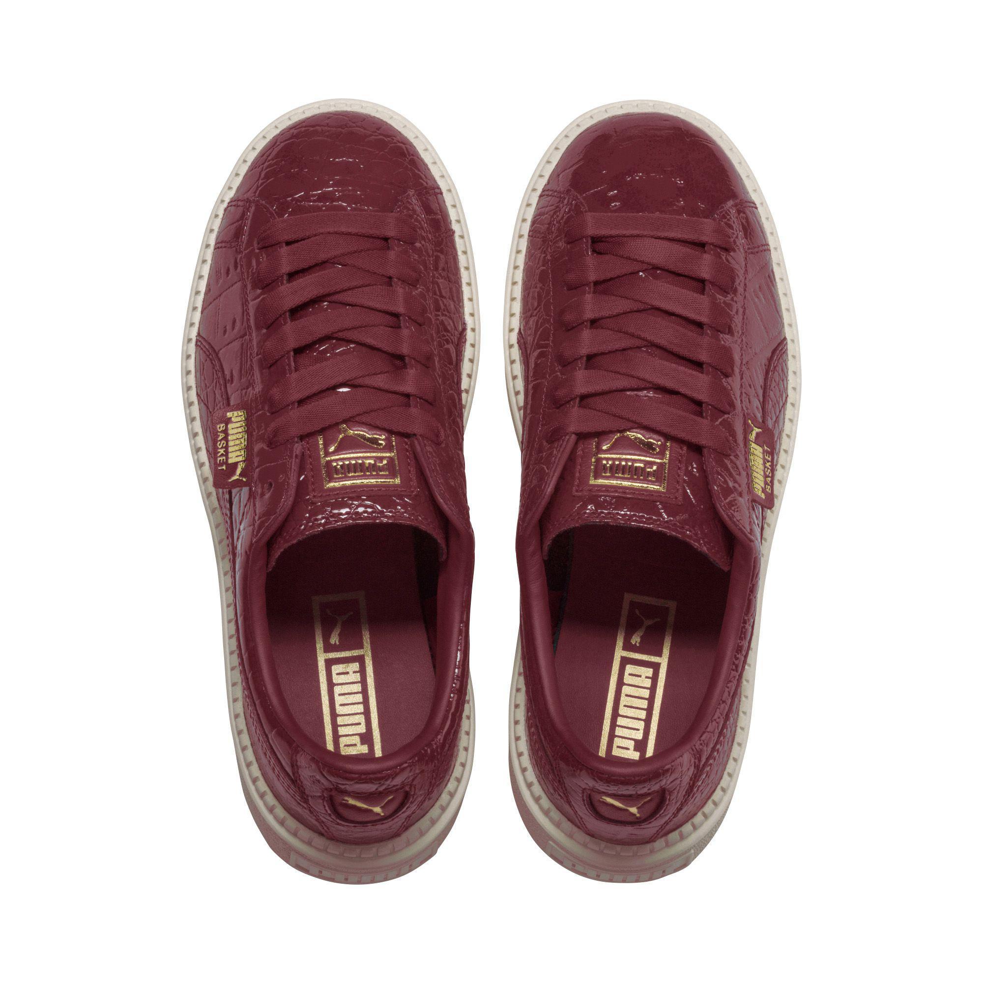 66a583cf8c0 Platform Trace Lux Sneakers Lyst Women s Exotic Puma HWxR50n4p