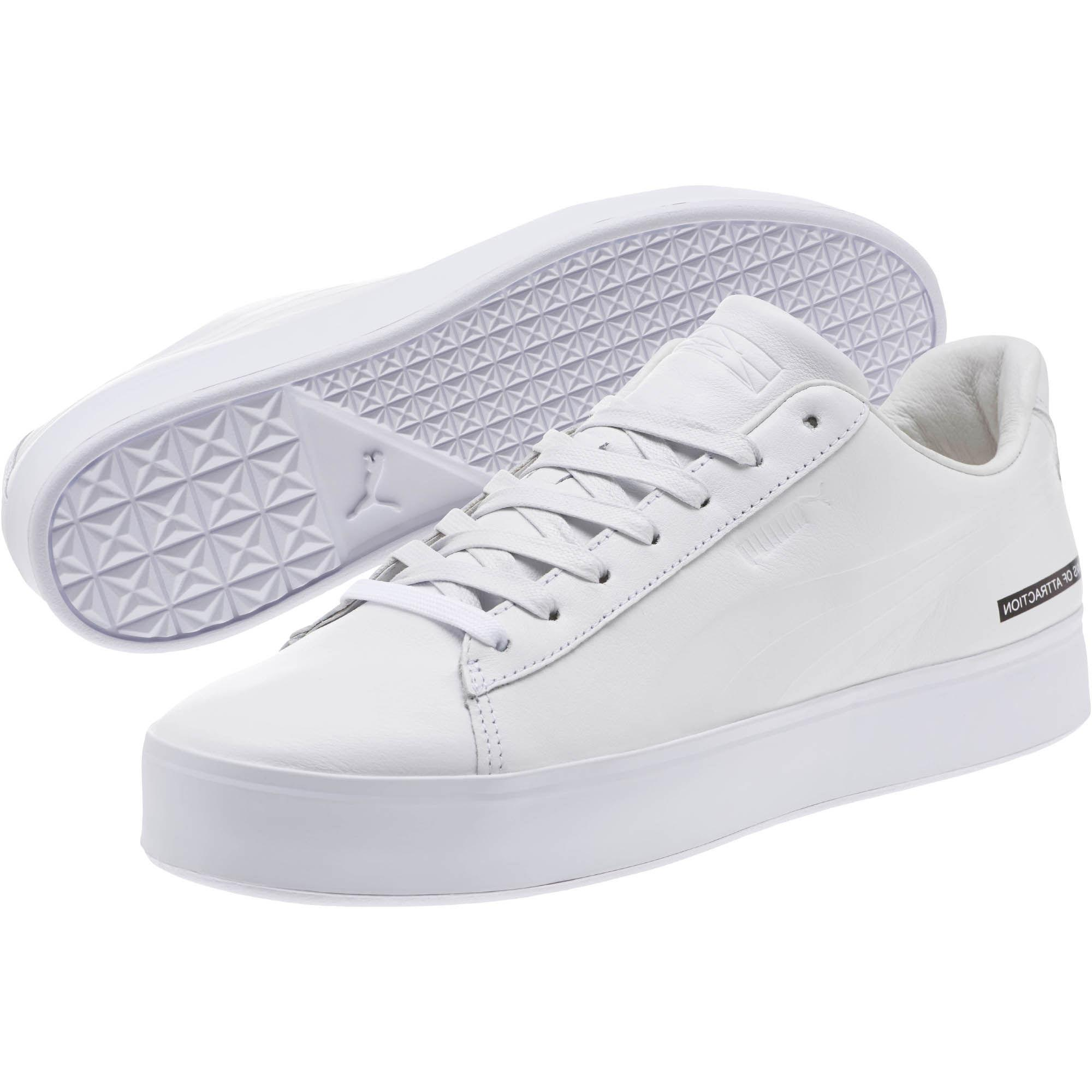 eced9232ee7a Lyst - PUMA X Black Scale Court Platform Men s Sneakers in White for Men