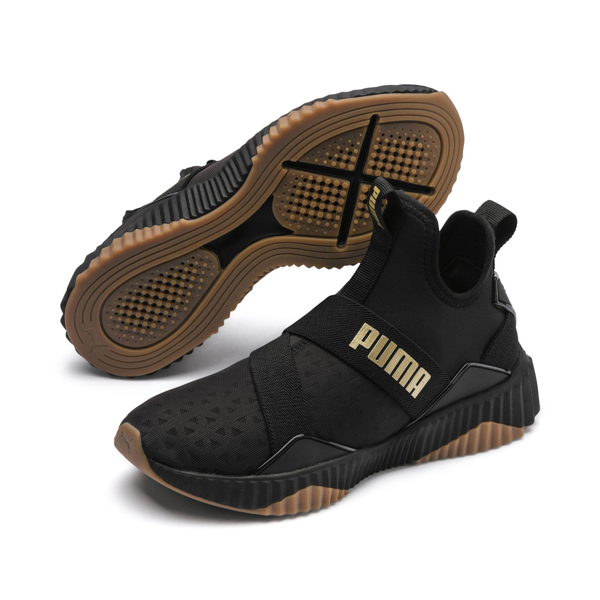 PUMA Rubber Defy Mid Core Shoes in