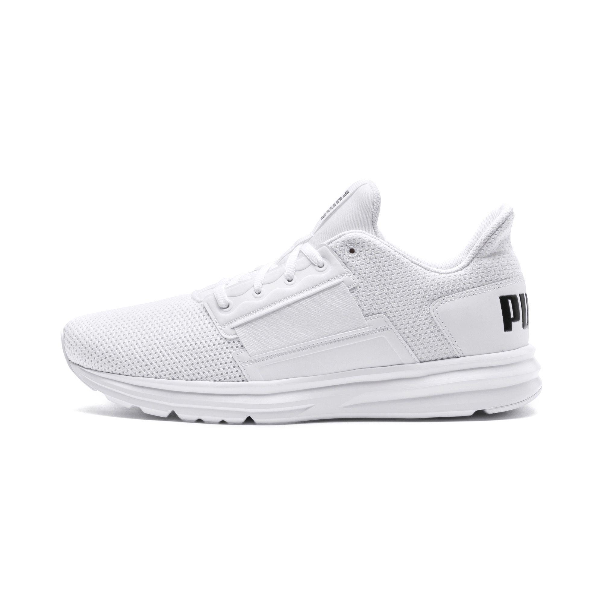 b8e23de4e68 Lyst - PUMA Enzo Street Men s Running Shoes in White for Men
