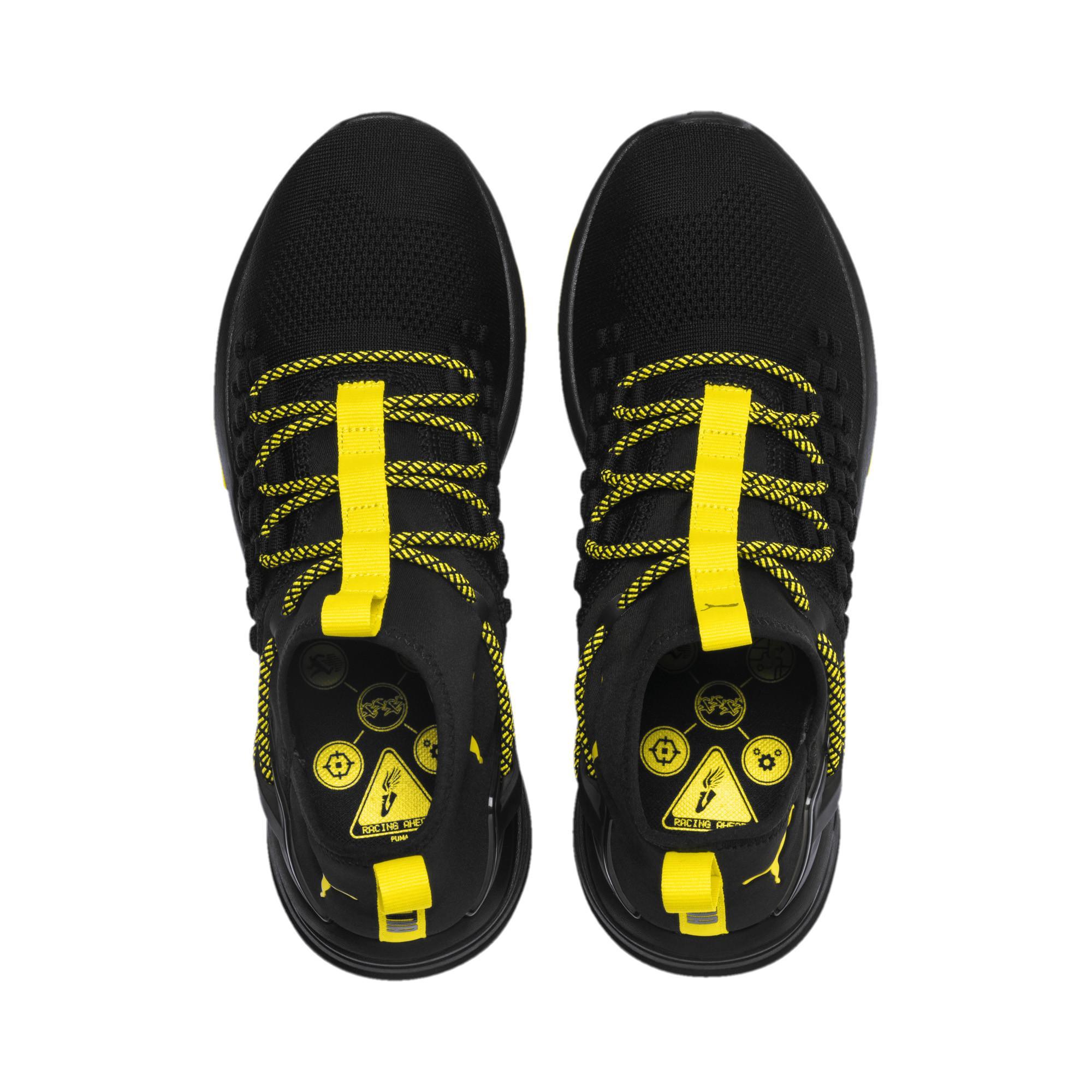 8b9cb54ce652f PUMA - Black Mantra Caution Men s Training Shoes for Men - Lyst. View  fullscreen