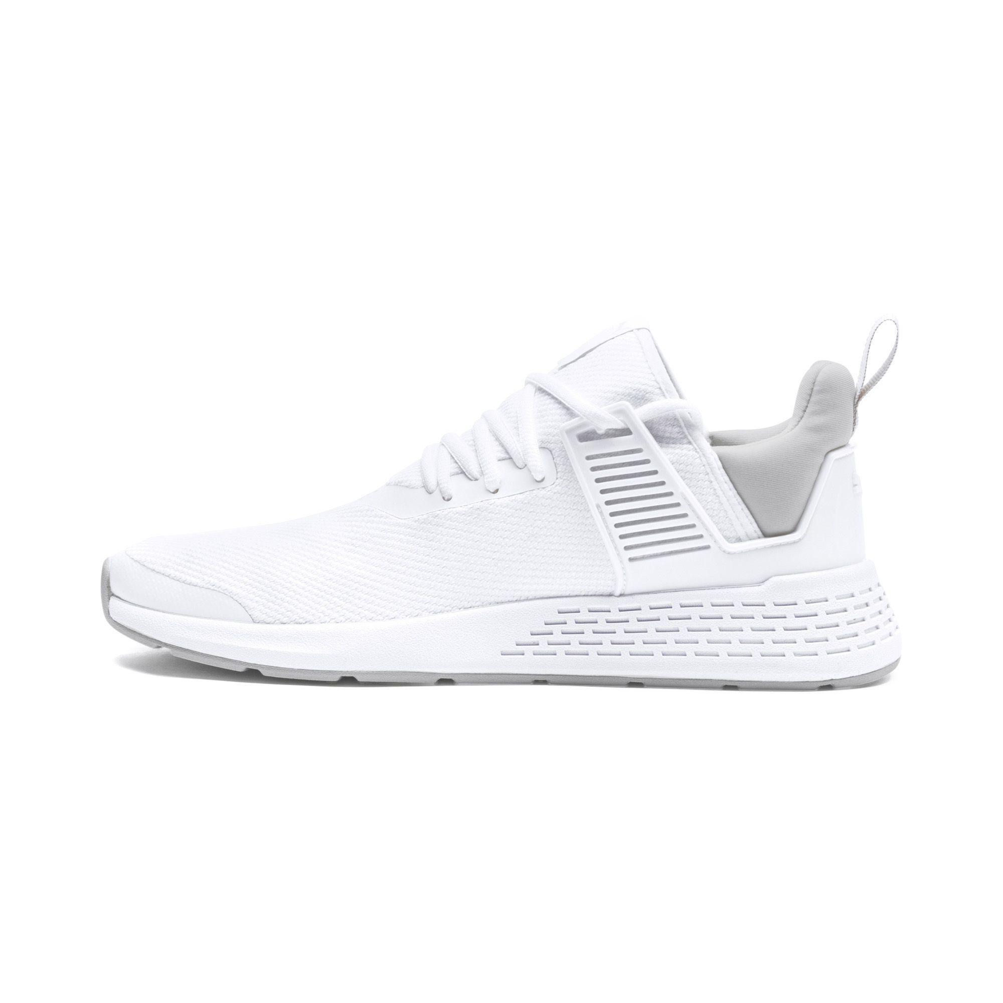 9133d7326e921 PUMA White Insurge Mesh Sneakers for men