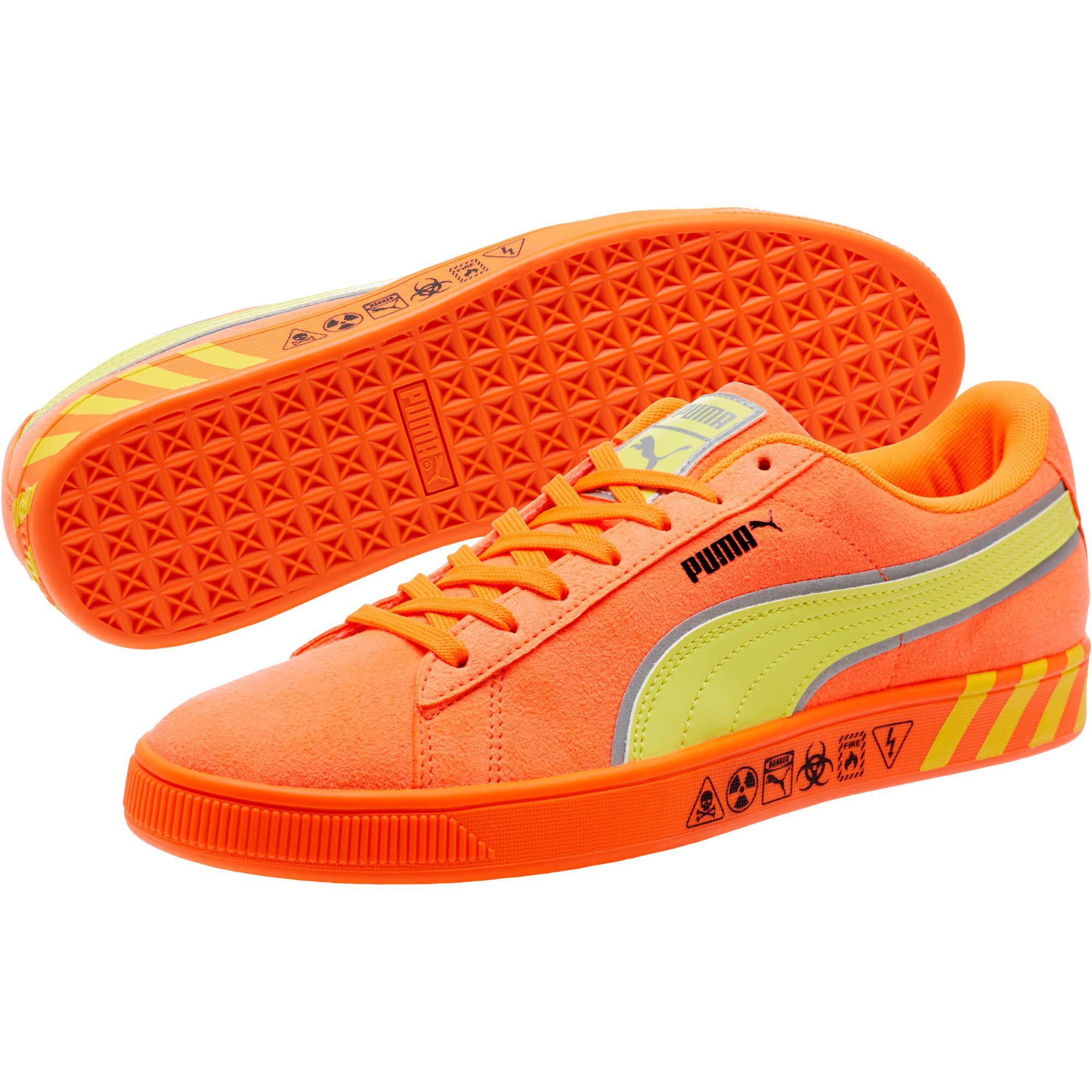 e873be3551f75 Lyst - PUMA Hazard Orange Suede Sneakers in Orange for Men