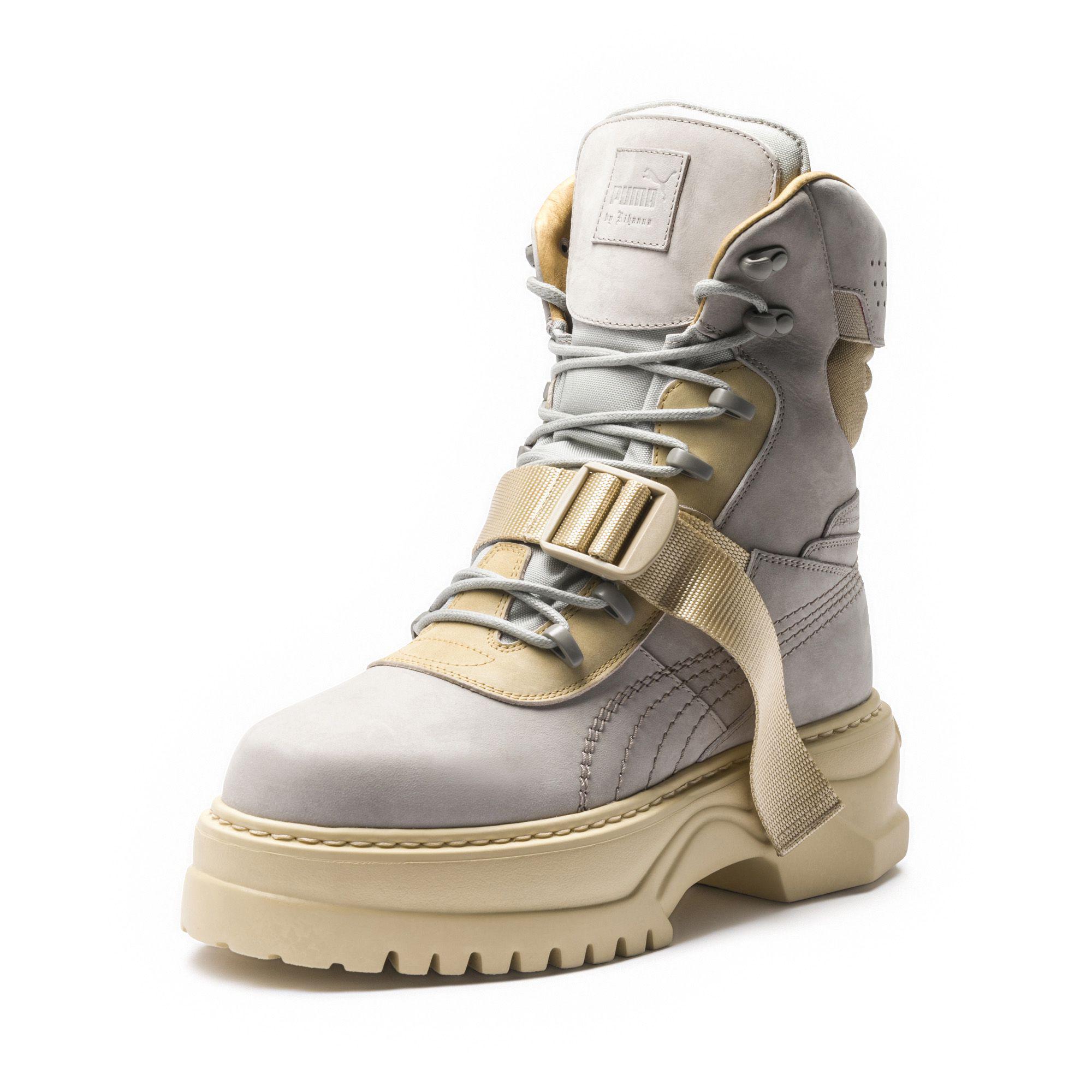 Lyst - PUMA Fenty Women s Winter Boot Nubuck 42693252d