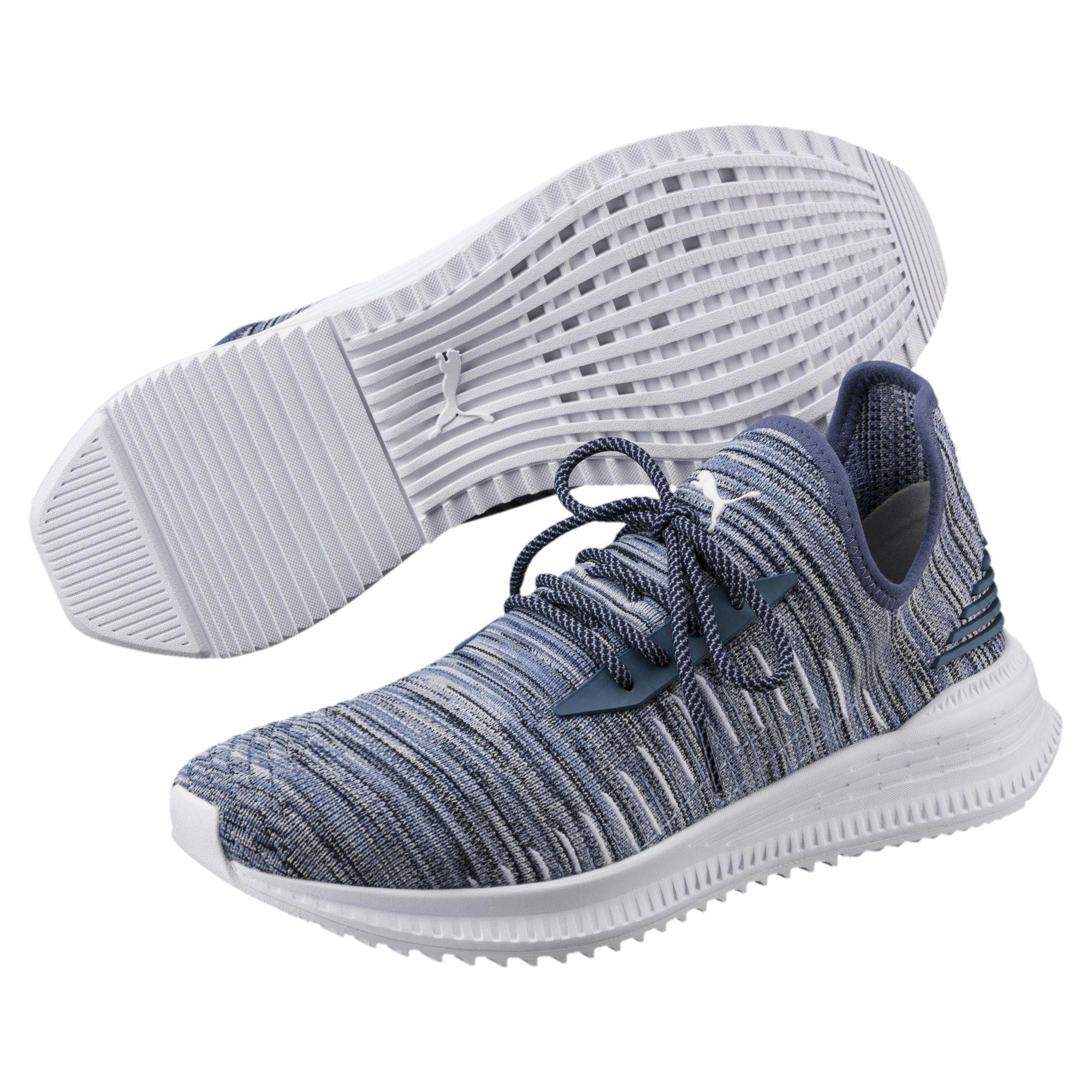 599725b728d0 Lyst - PUMA Avid Evoknit Summer Running Shoes in Blue