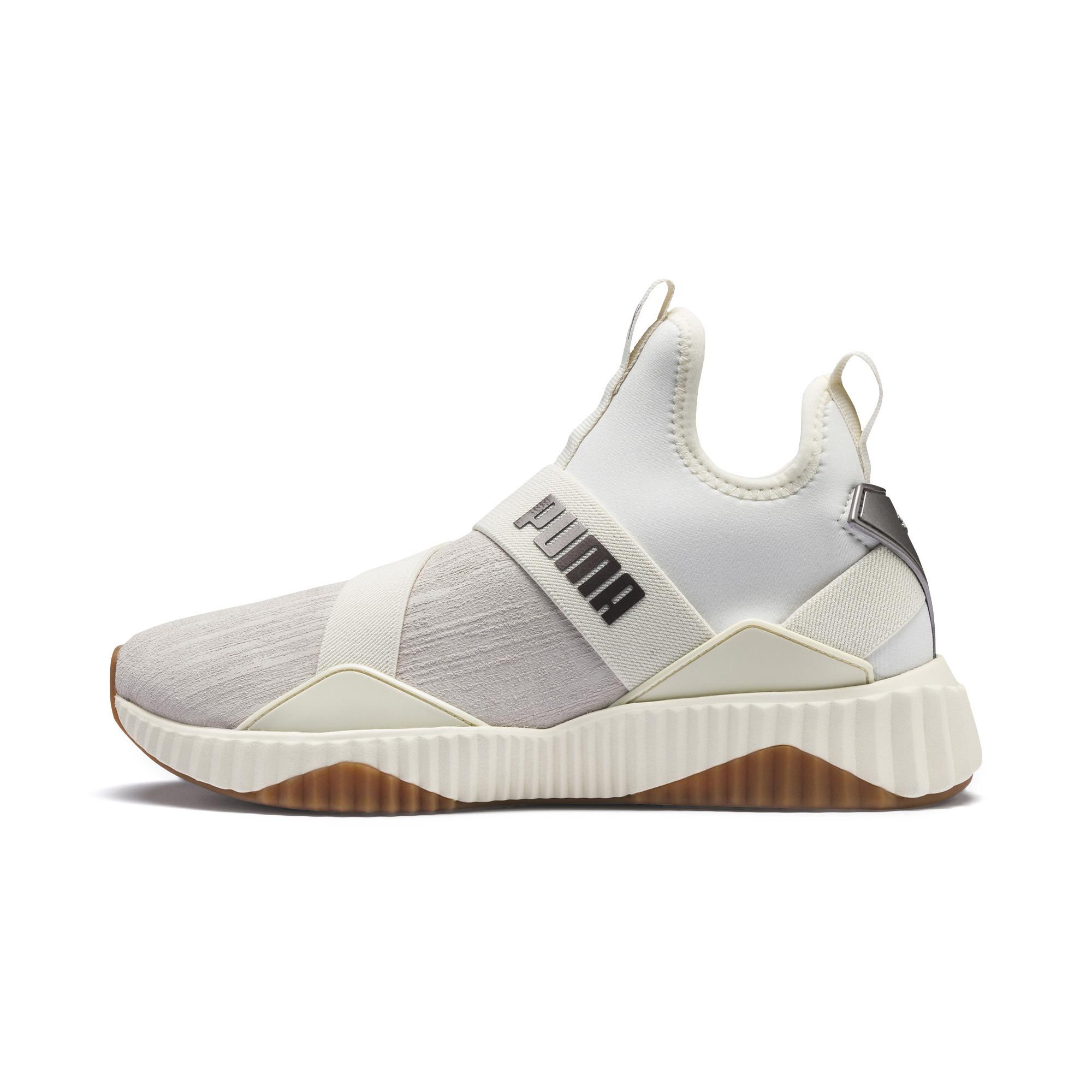 PUMA Defy Mid Luxe Wn's in White for