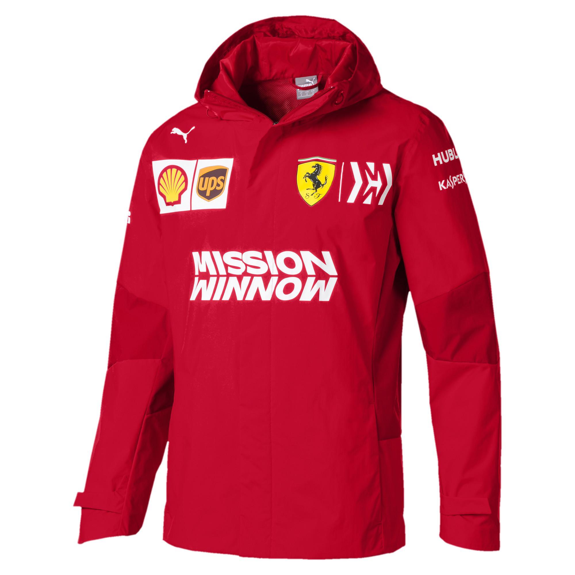 e049681d5e4e Lyst - PUMA Scuderia Ferrari Men s Team Jacket in Red for Men