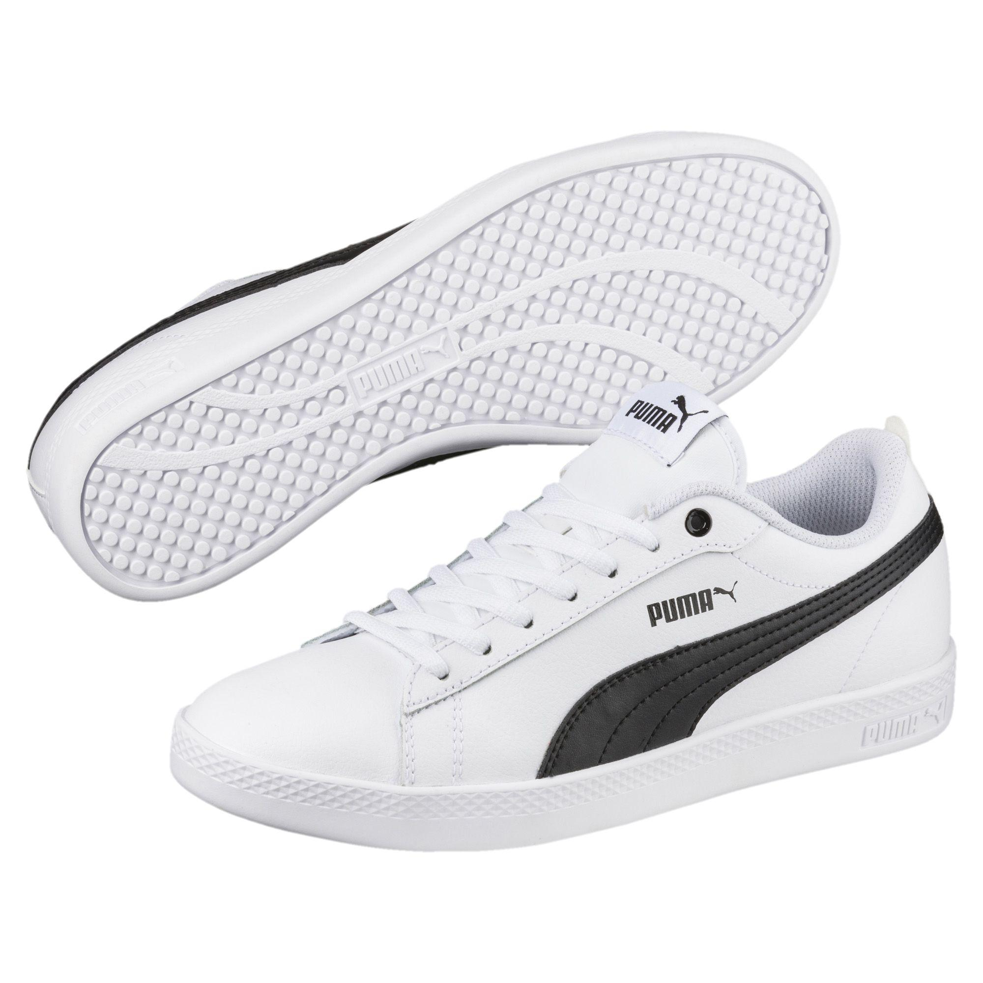 Lyst - PUMA Smash V2 Leather Women s Sneakers in White 756c6a27e