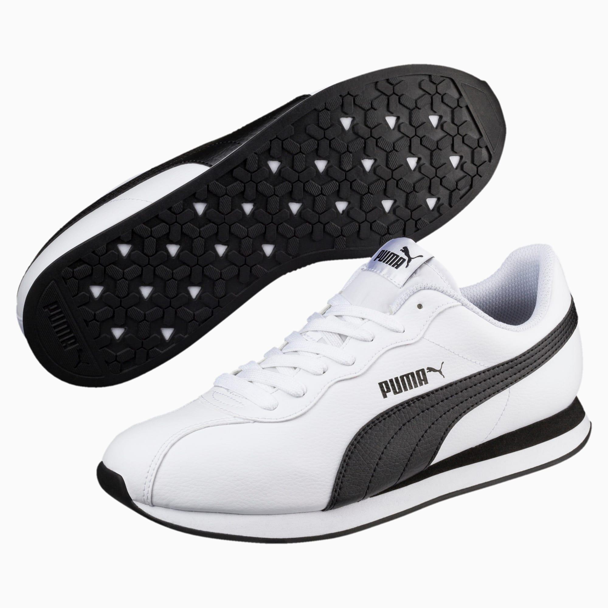 PUMA TURIN MESH Trainers Mens NavyWhite Athletic Sneakers