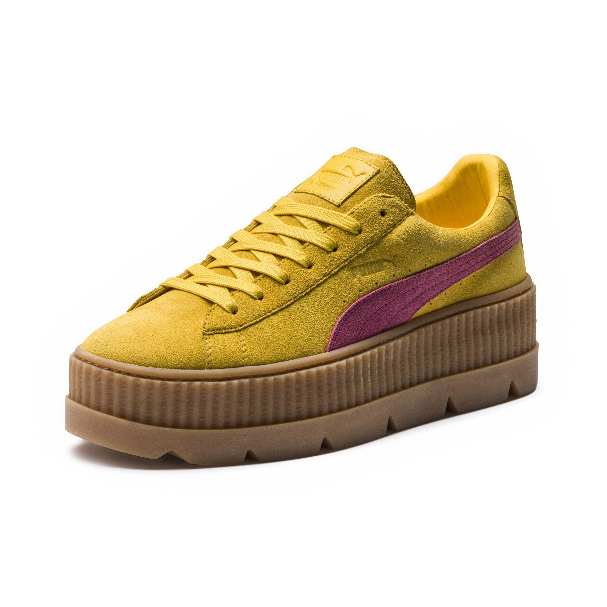 brand new 6f0ef 5221b PUMA Multicolor Fenty Suede Cleated Creeper Women's