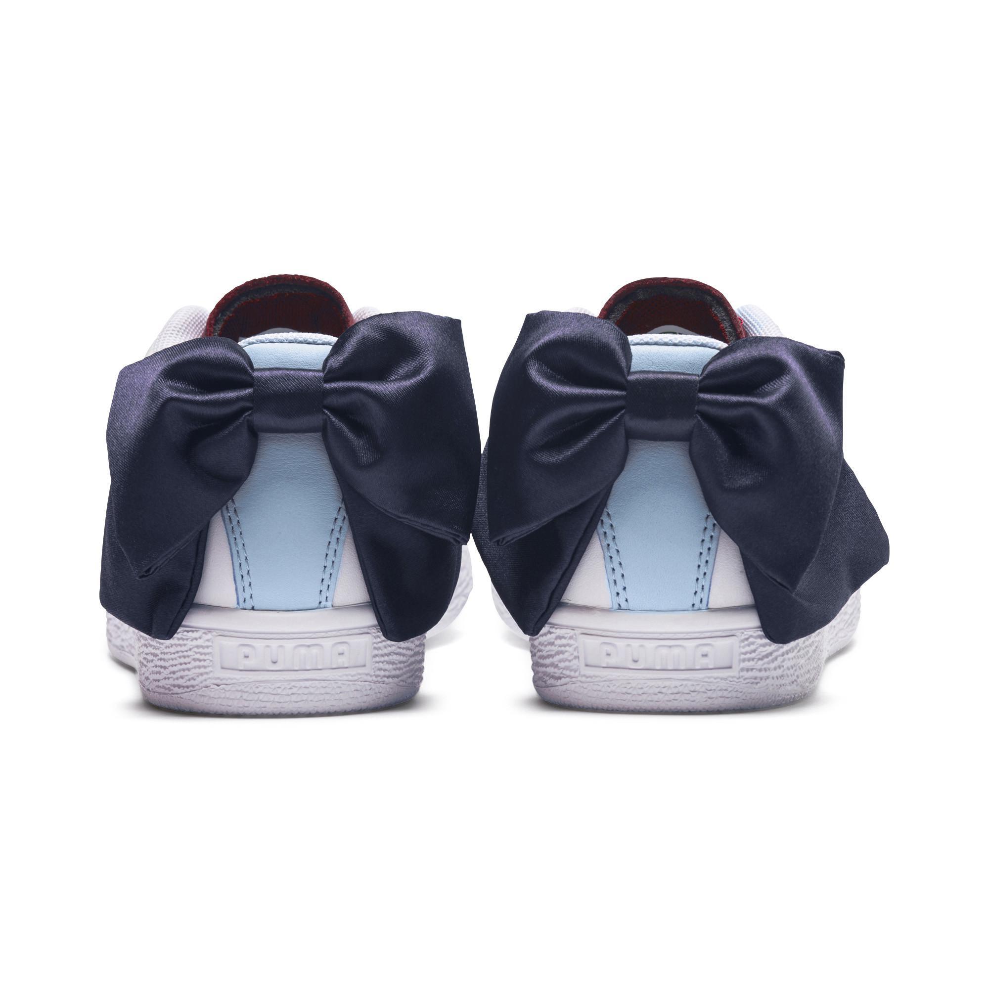 b1f6c2009a PUMA Multicolor Basket Bow New School Sneakers