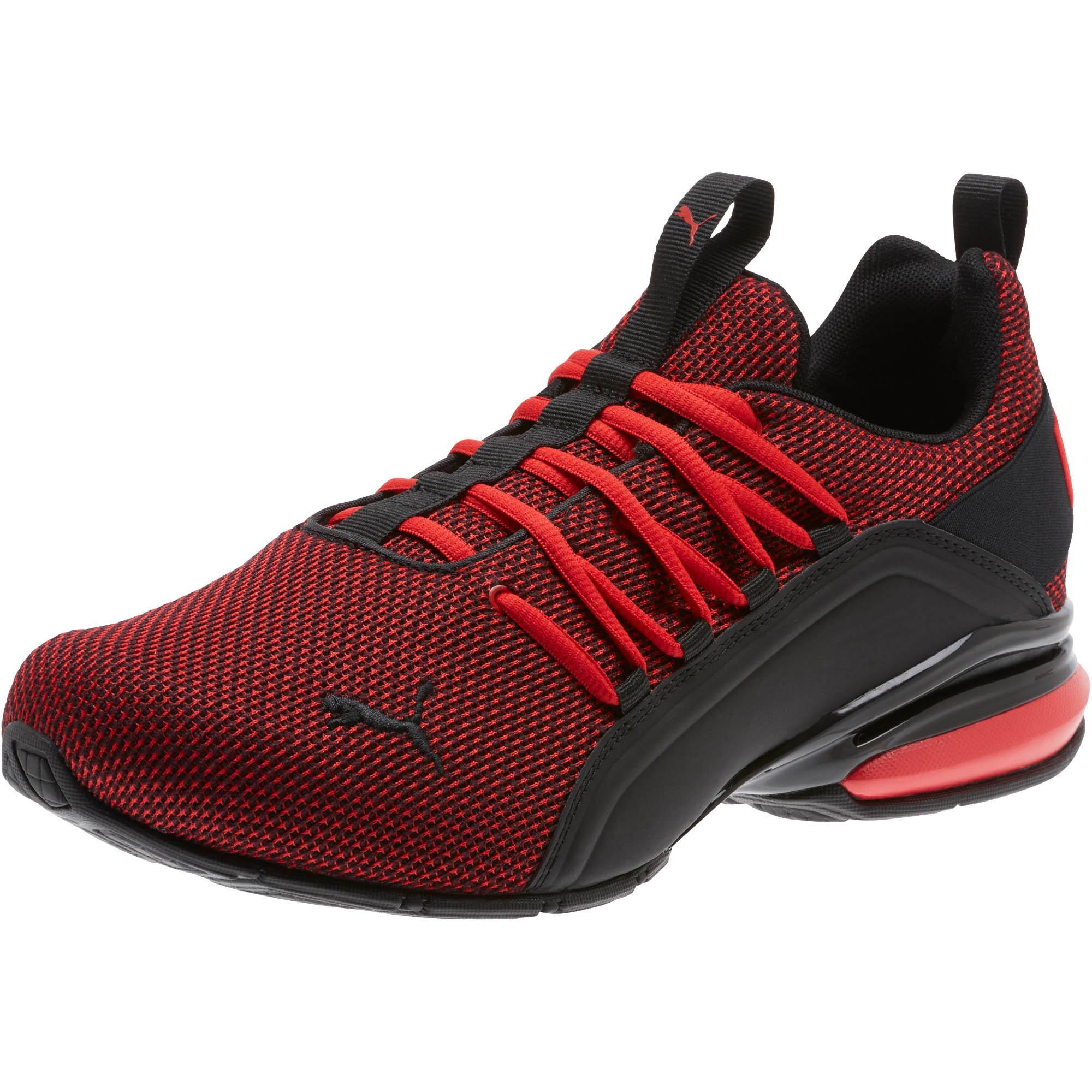 cadbca40b7fd4 PUMA Axelion Mesh (high Risk Red/ Black) Shoes for men