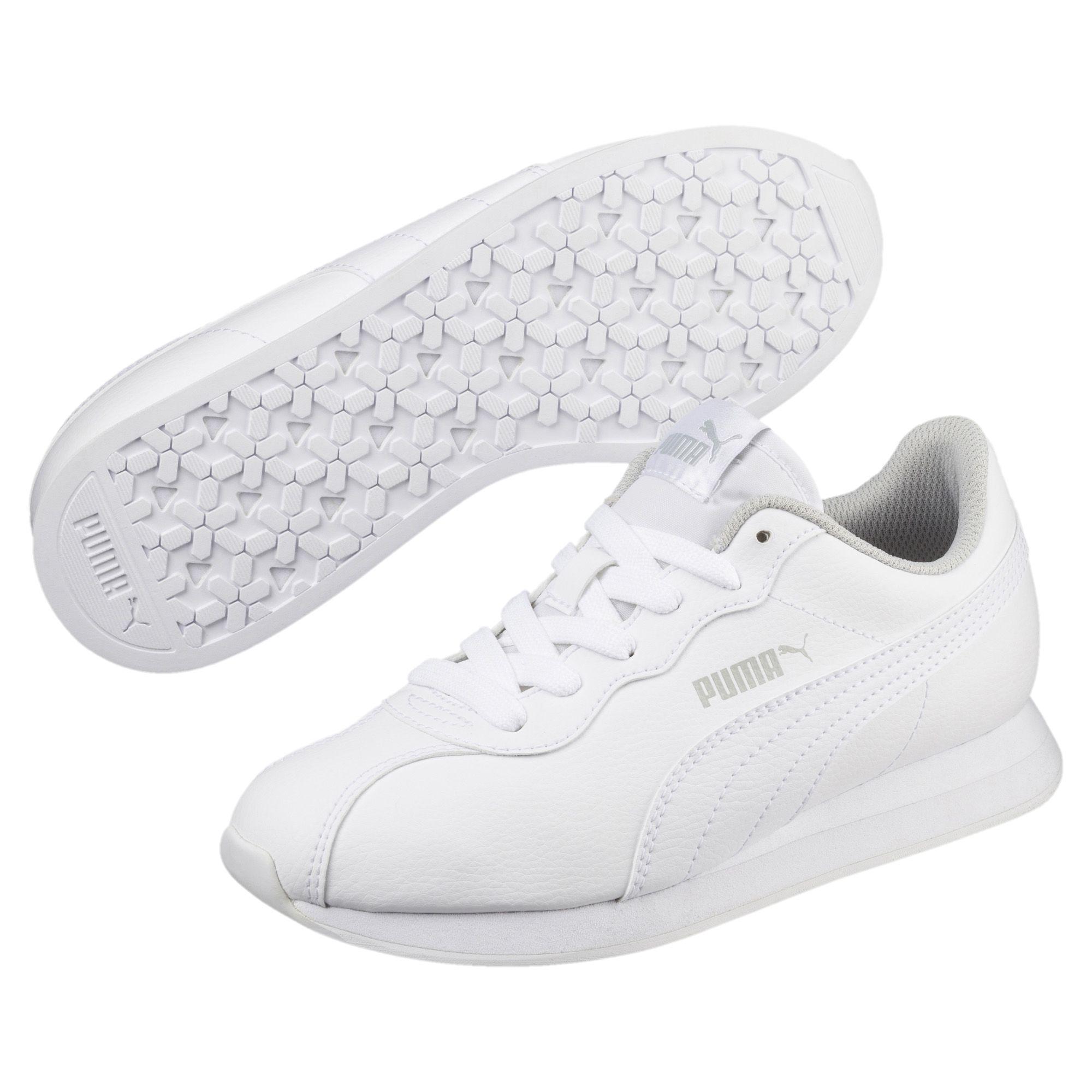 PUMA Turin Ii Jr Sneakers in White - Lyst
