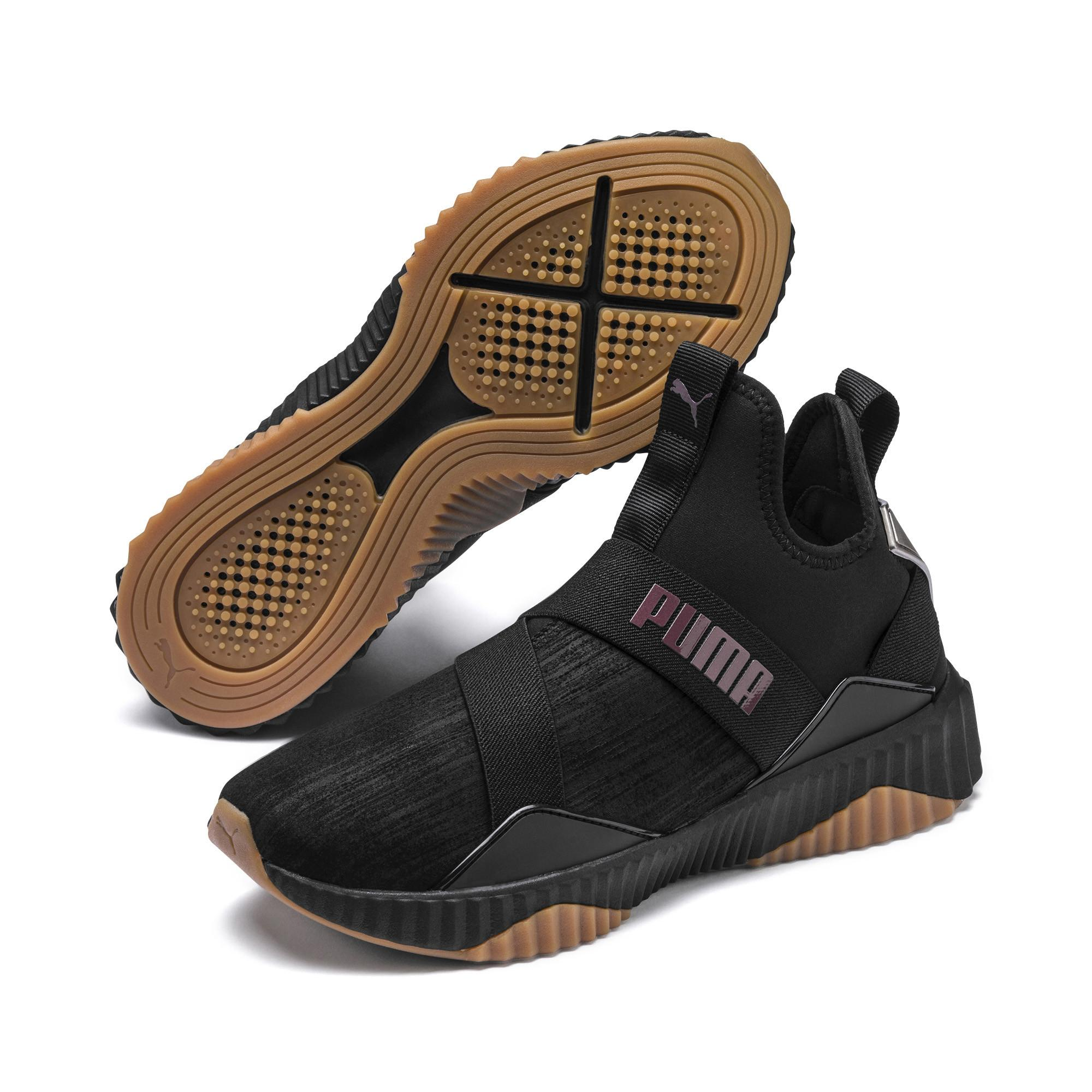 PUMA Defy Mid Luxe Casual Sneakers From