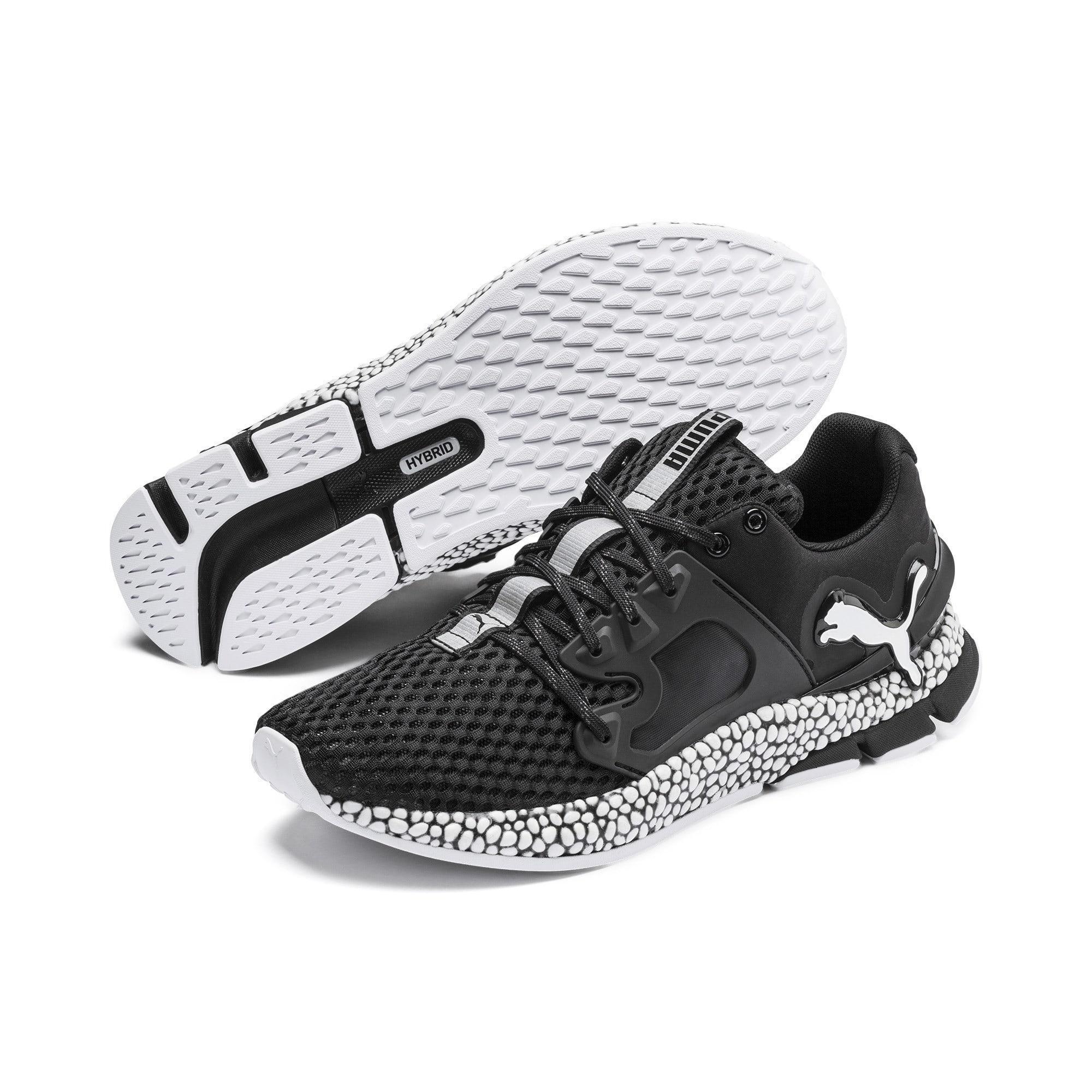 Nombre provisional Flor de la ciudad Significativo  PUMA Lace Hybrid Sky Men's Running Shoes in 03 (Black) - Save 51 ...