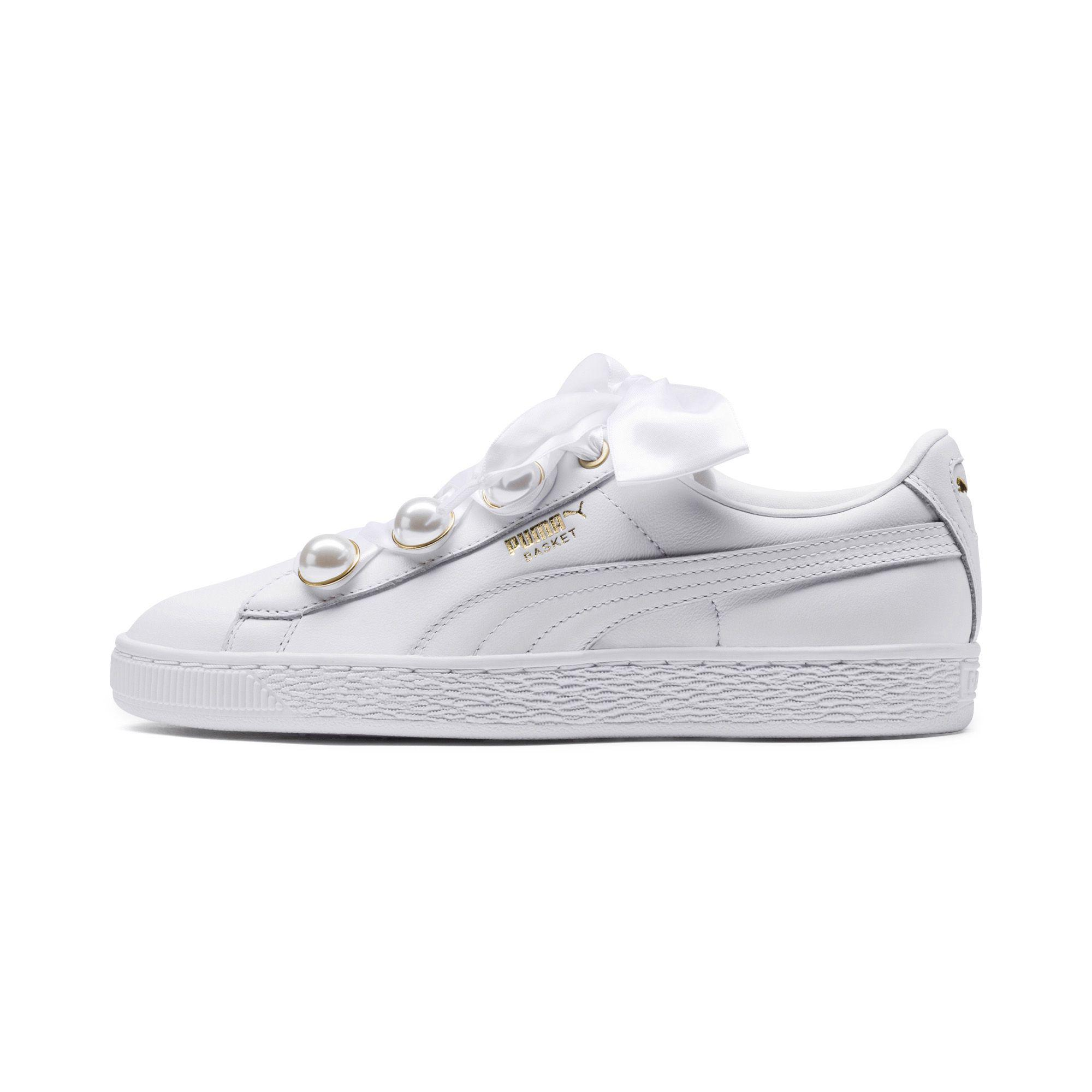 PUMA Leather Basket Bling 's Sneakers