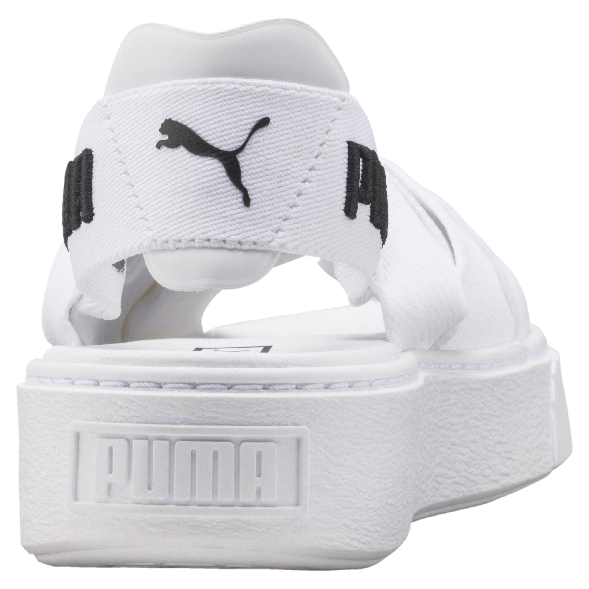 b4add1c464d Lyst - PUMA Platform Women s Sandals in White