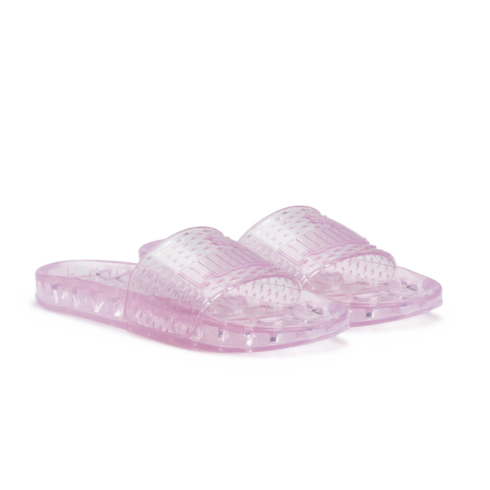 Lyst - Puma Jelly Women s Slide Sandals in Pink dfa1f4e3c