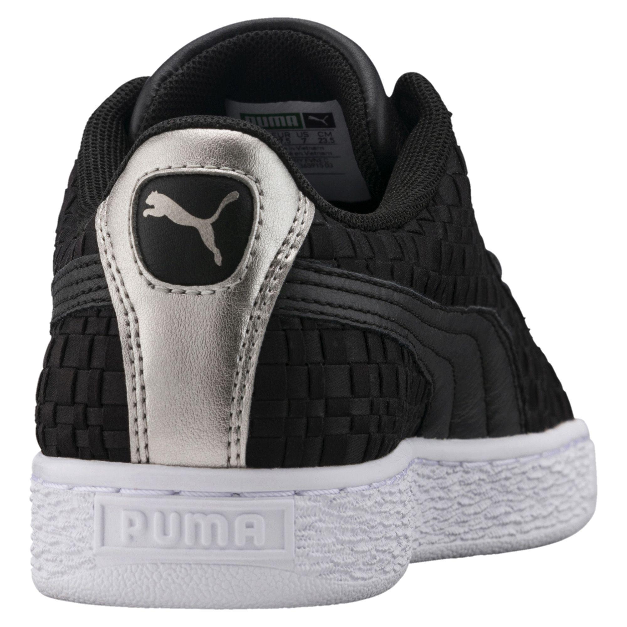 13a4fa316f7424 Lyst - PUMA Basket Satin En Pointe Women s Sneakers in Black for Men
