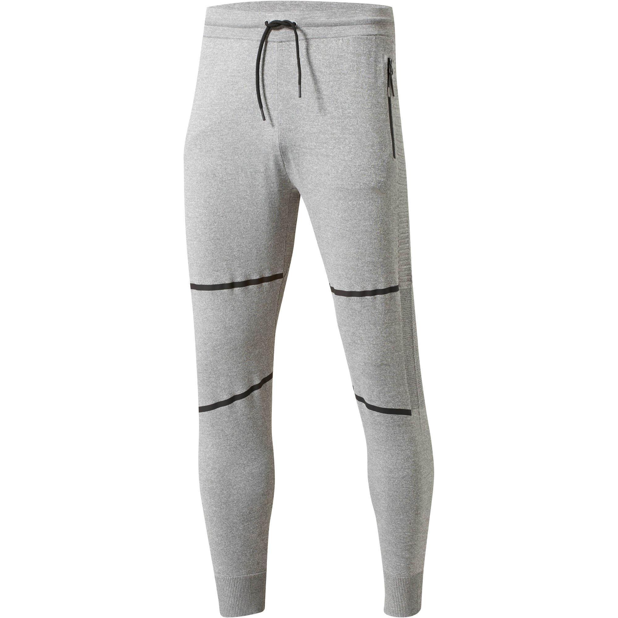b4c2d7fdfd4c Lyst - PUMA Evoknit Men s Energy Trackster Pants in Gray for Men ...