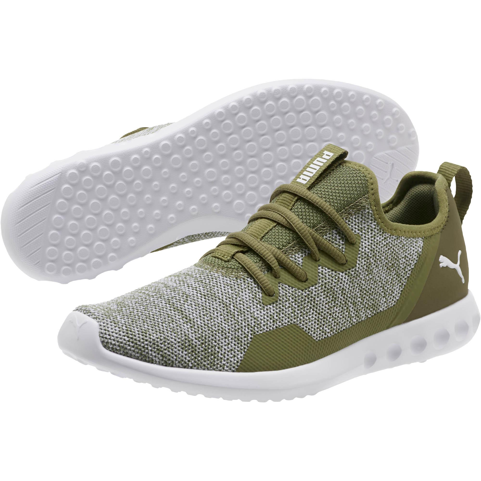 ded2d0a5ee0 PUMA - Green Carson 2 X Knit Running Shoes for Men - Lyst. View fullscreen