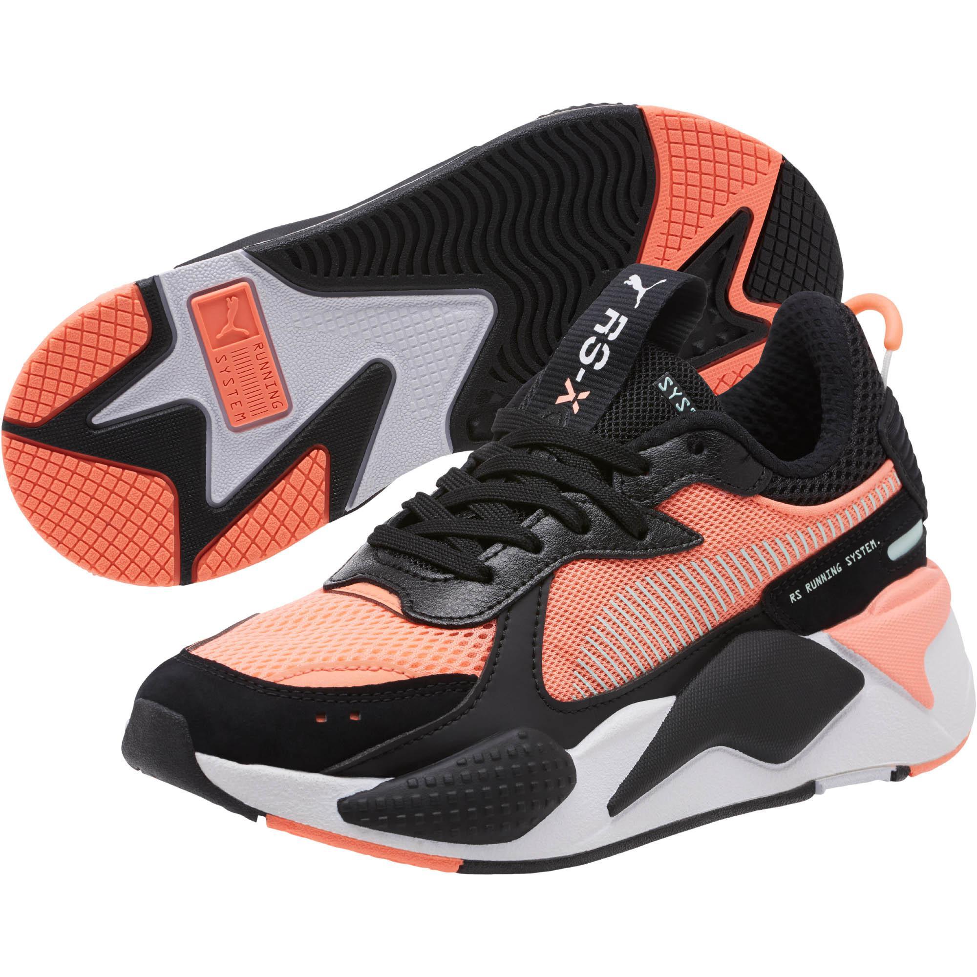 96378973 PUMA Black Rs-x Toys Jnr Sneakers