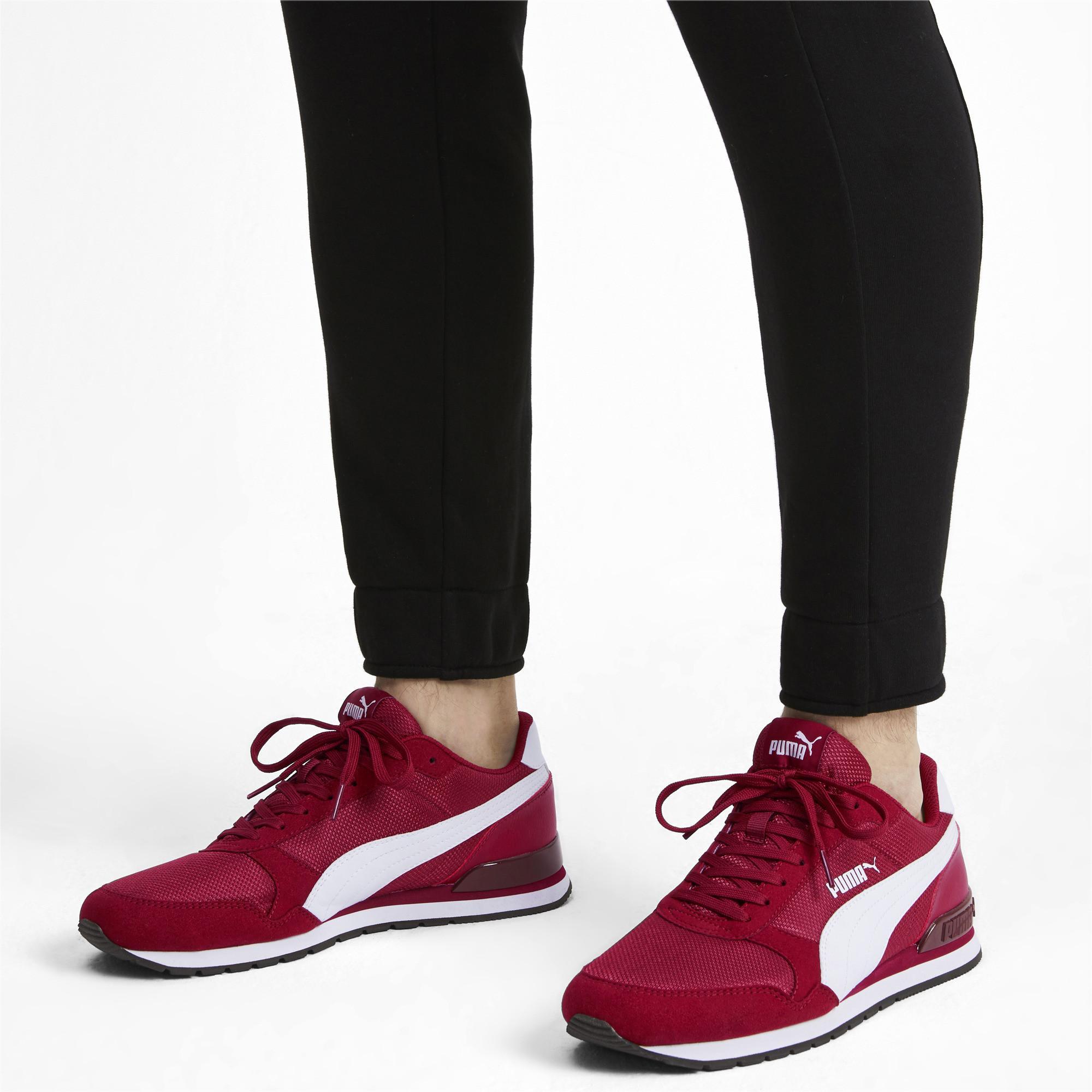 PUMA Suede St Runner V2 Mesh Sneakers