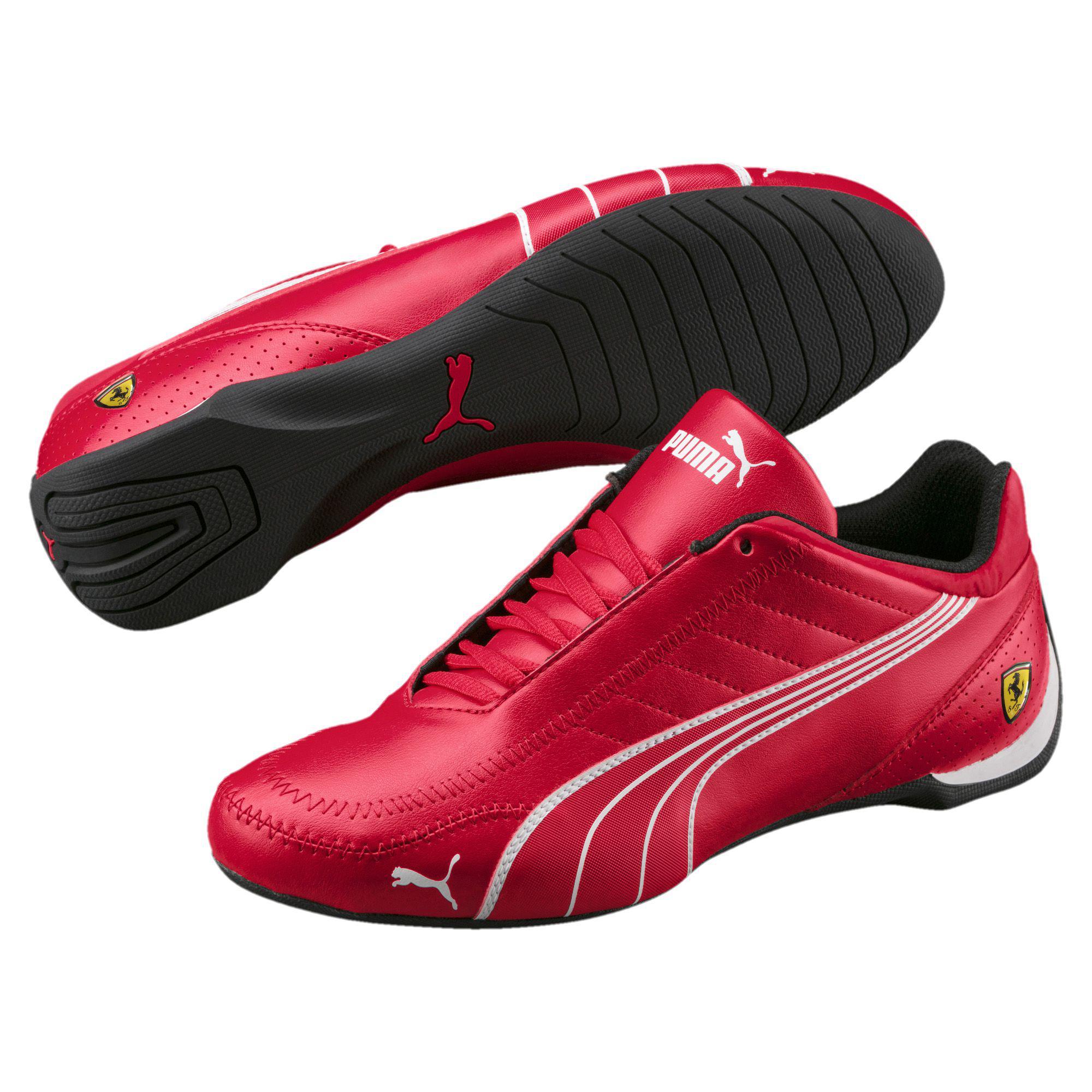 9d91266060d757 Lyst - PUMA Ferrari Future Cart Cat Men s Motorsport Shoes in Red ...