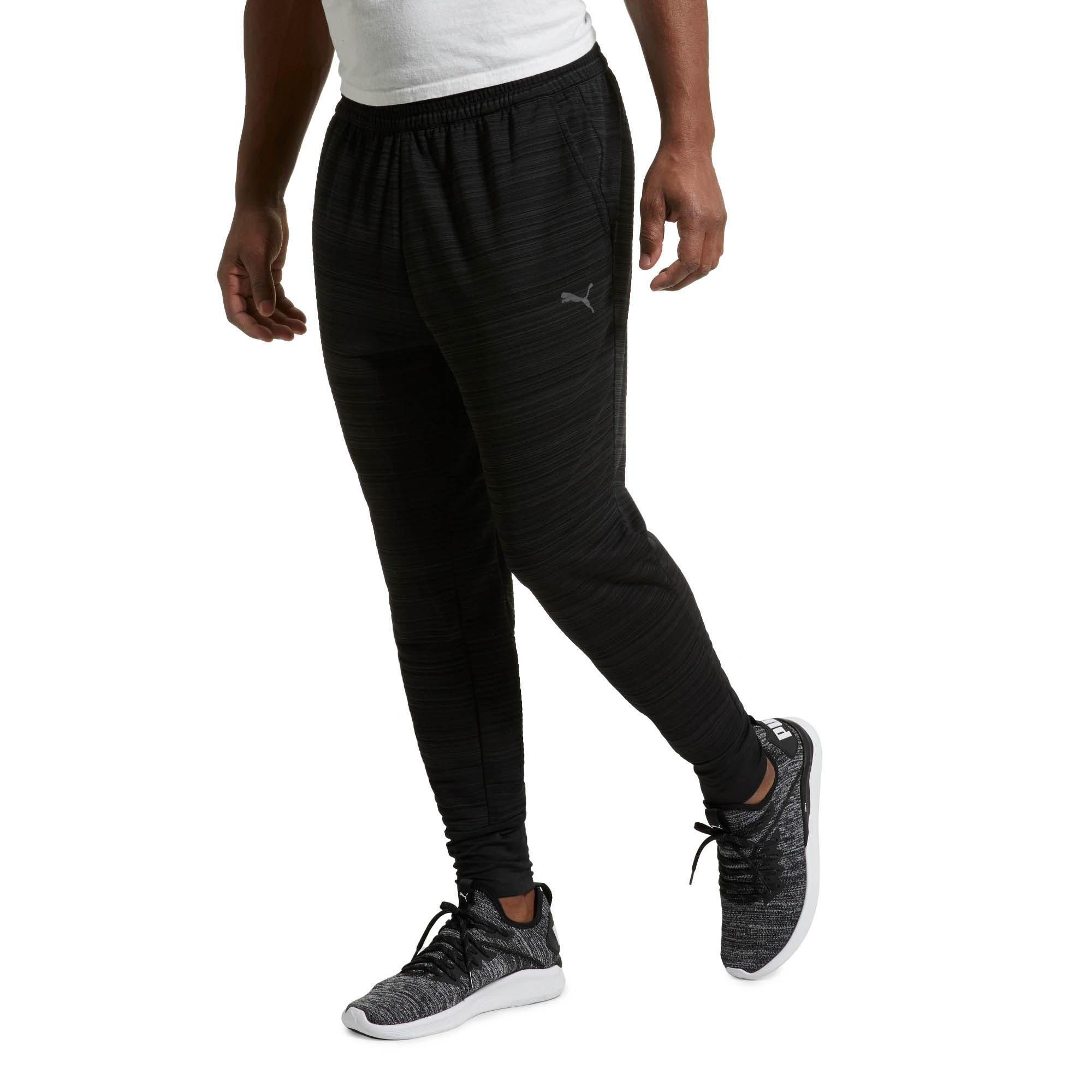 2817c3a7c156 Lyst - PUMA Energy Trackster Men s Training Sweatpants in Black for Men