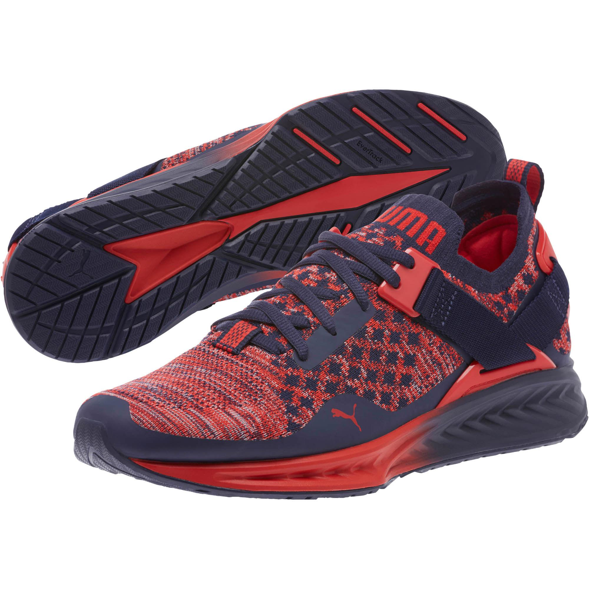 Lyst - PUMA Ignite Evoknit Lo Fade Men s Training Shoes in Red for Men 01a0961c2