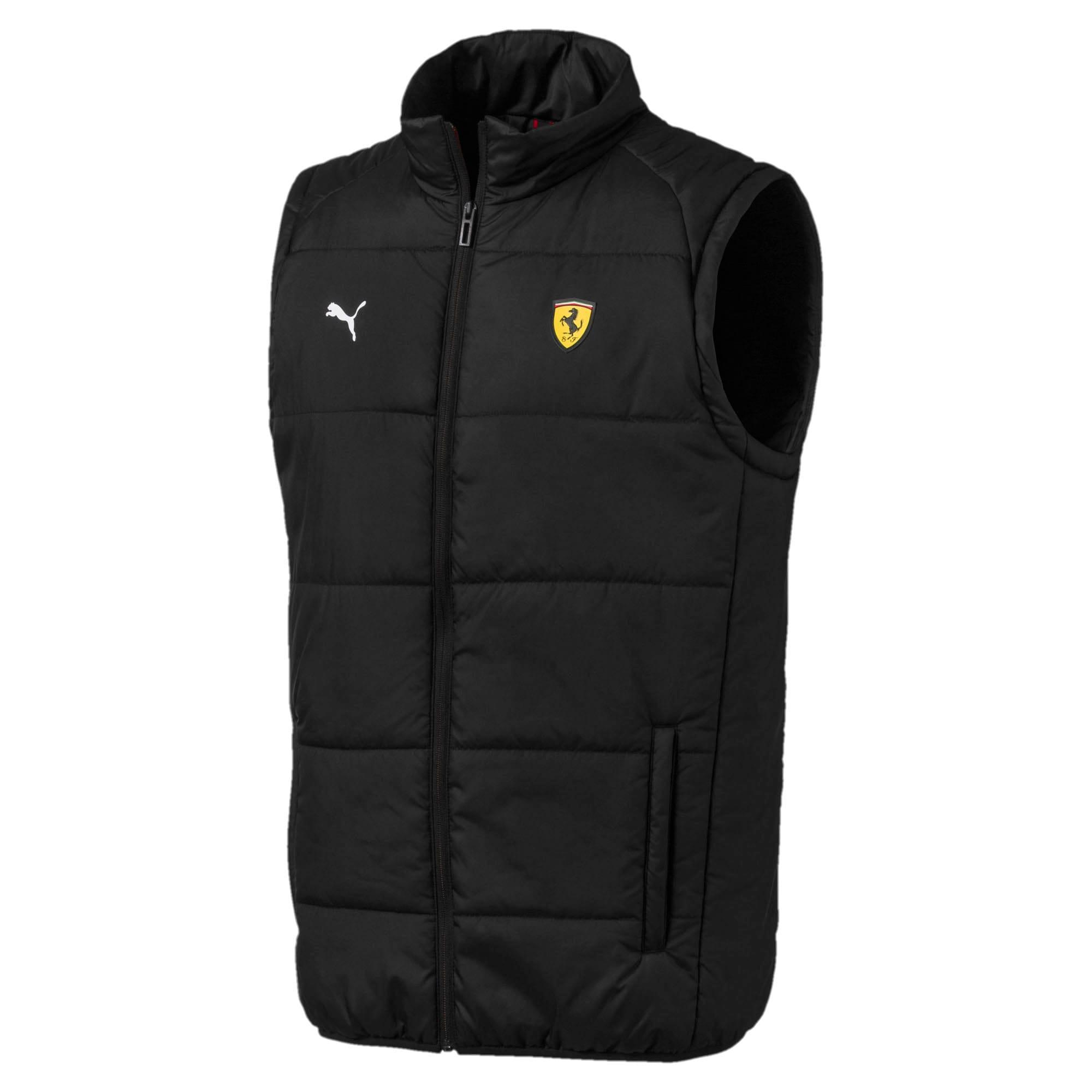 Scuderia Ferrari Men's Lightweight Padded Vest