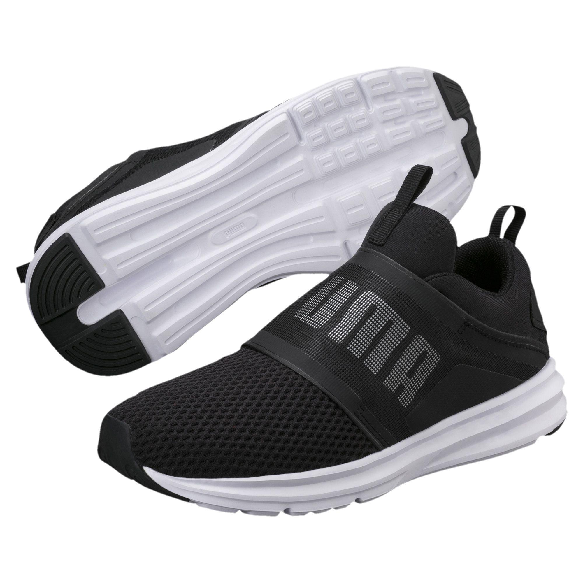 2ebd9f3ca022 Lyst - PUMA Enzo Strap Women s Running Shoes in Black