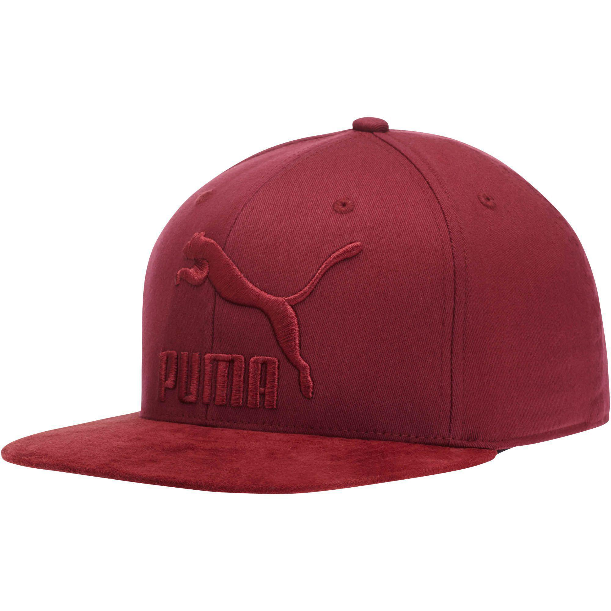 b98ae3dca2d78 ... norway puma. mens pink suede 110 snapback hat 081fe 90547