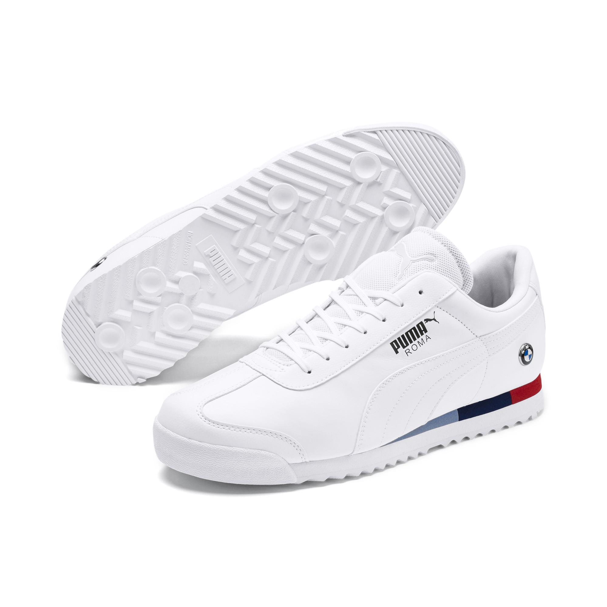 a02d4f6090b201 PUMA - White Bmw Mms Roma Men s Sneakers for Men - Lyst. View fullscreen