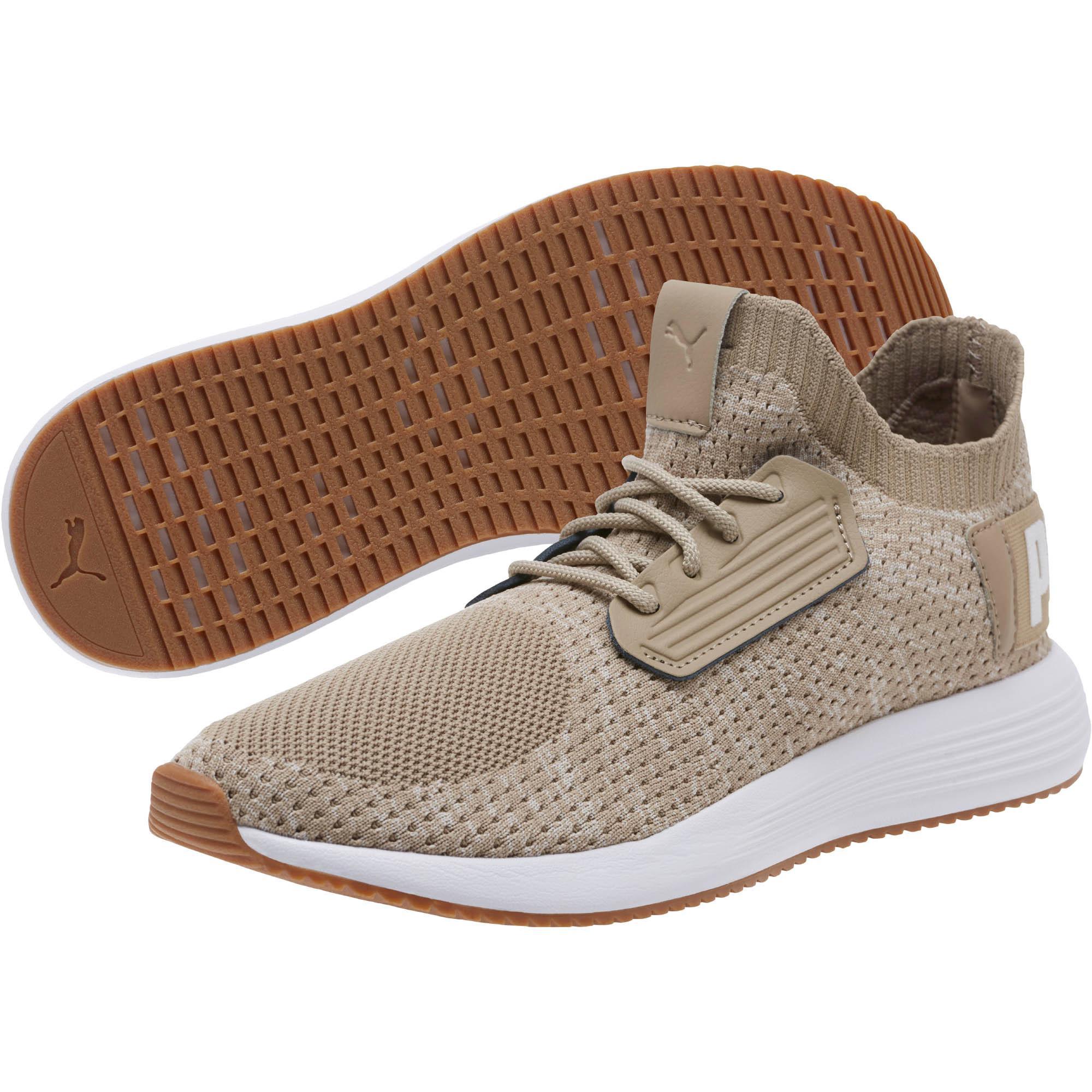 PUMA - Natural Uprise Knit Men s Sneakers for Men - Lyst. View fullscreen 649b55ba3