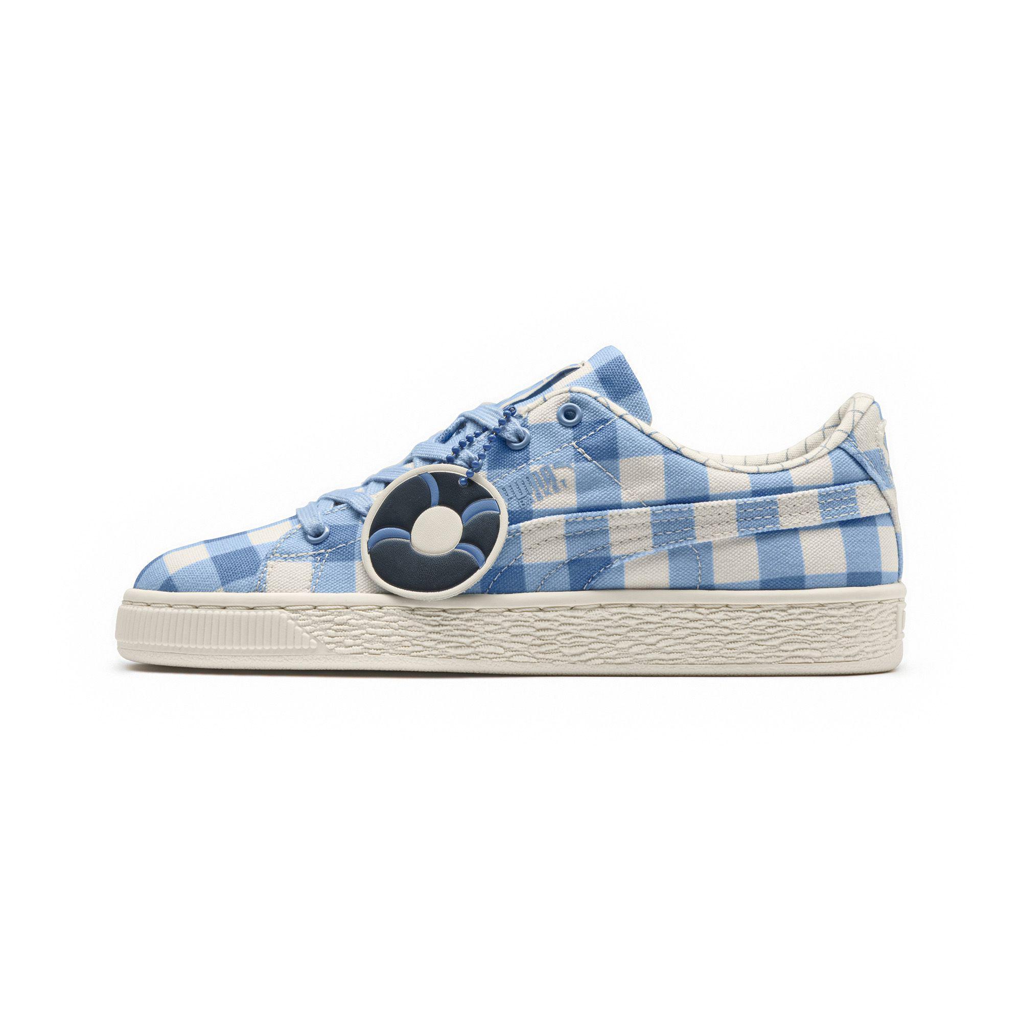 2129ddebf3 Lyst - PUMA X Tinycottons Basket Jr Sneakers in Blue