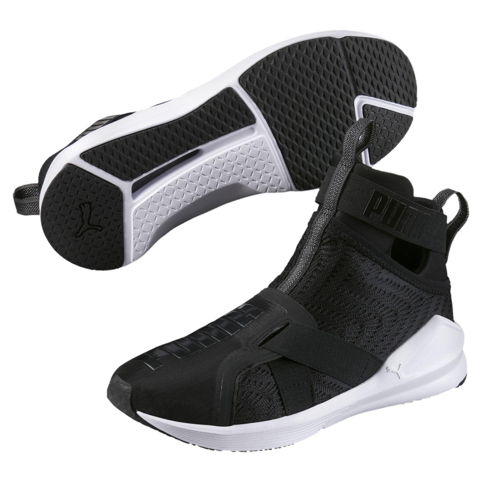 check out c53b9 8d26a PUMA Black Fierce Strap Swirl Women's Training Shoes