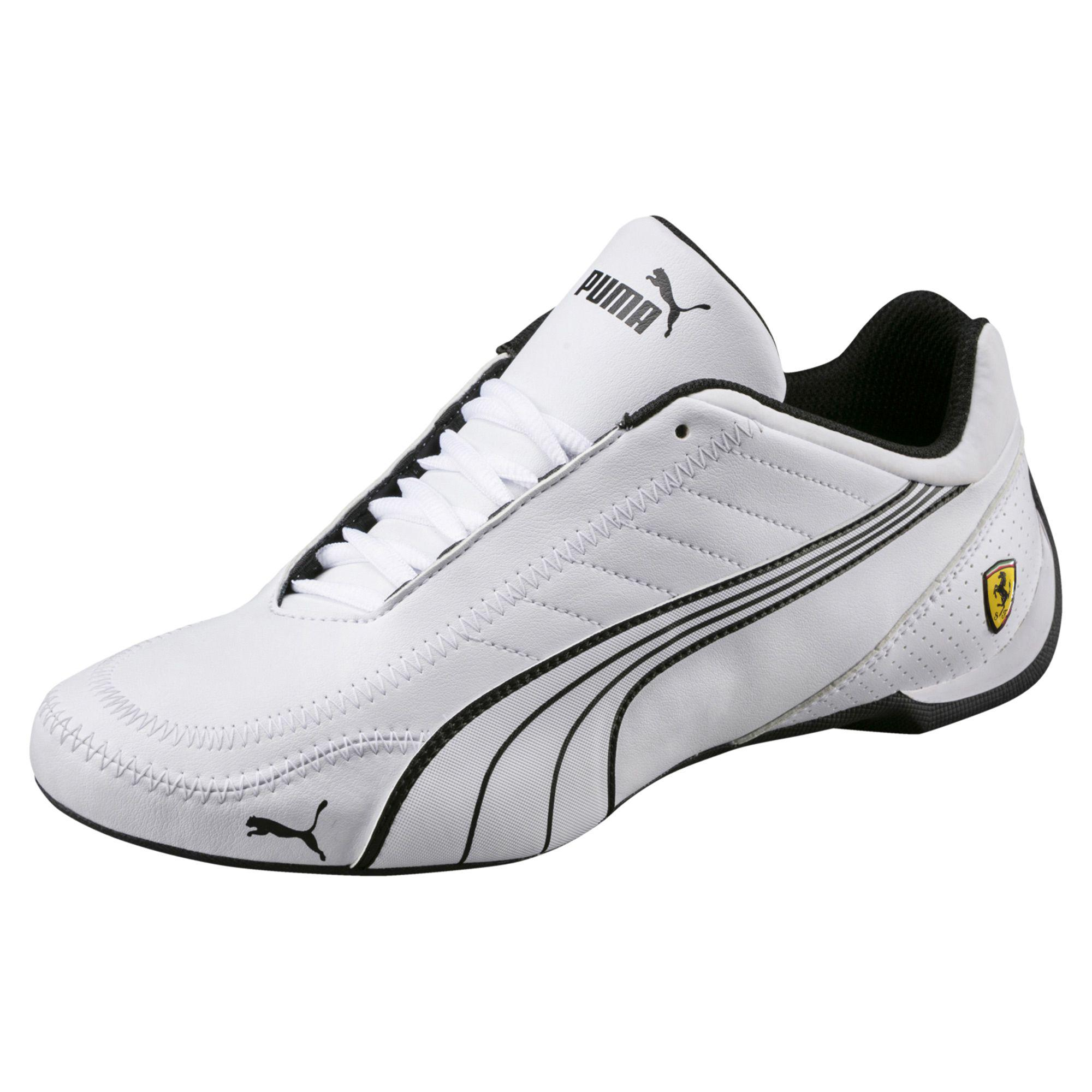 2b5787b4bd8c1c Lyst - PUMA Ferrari Future Cart Cat Men s Motorsport Shoes in White ...