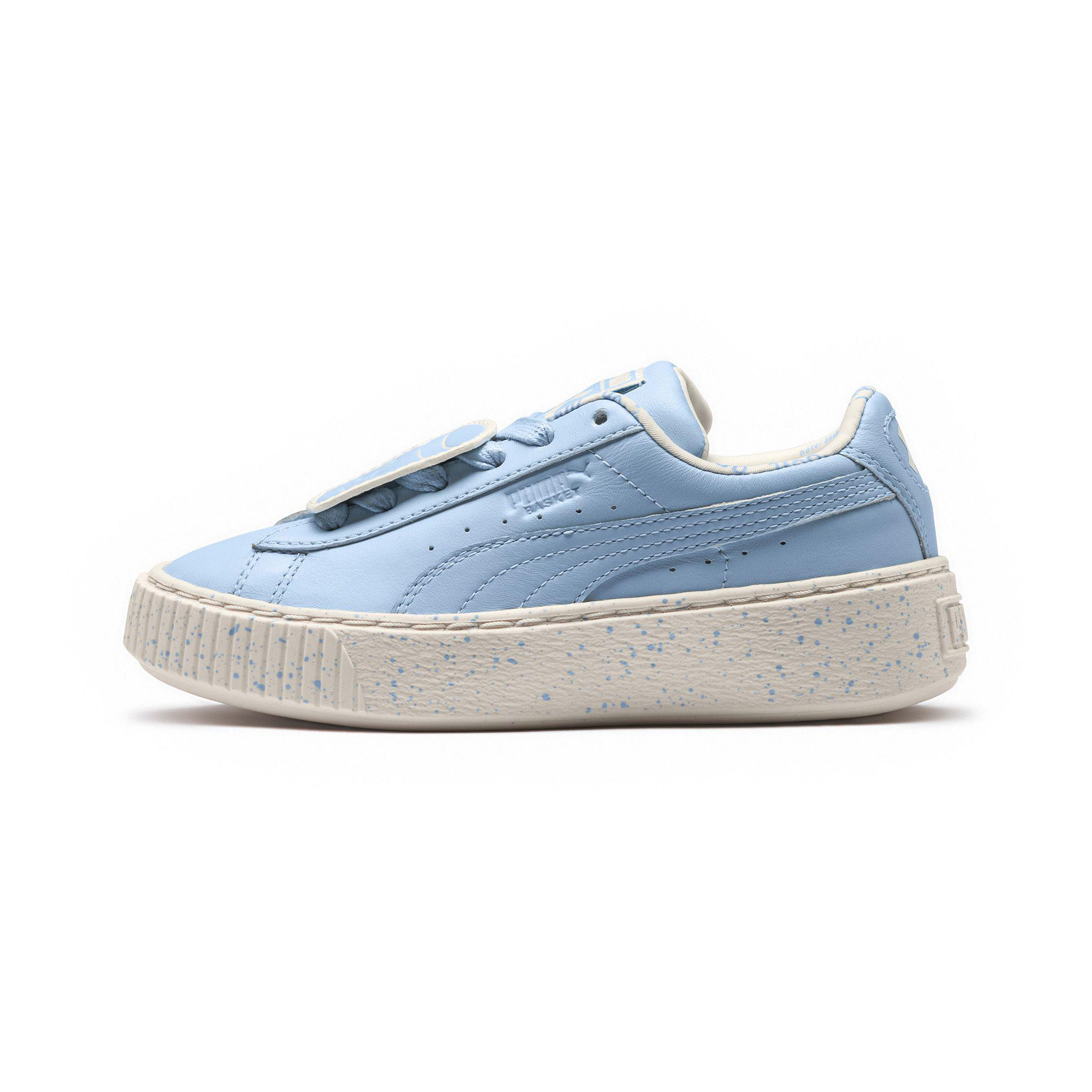 68871519fe Lyst - PUMA X Tinycottons Platform Jr Sneakers in Blue