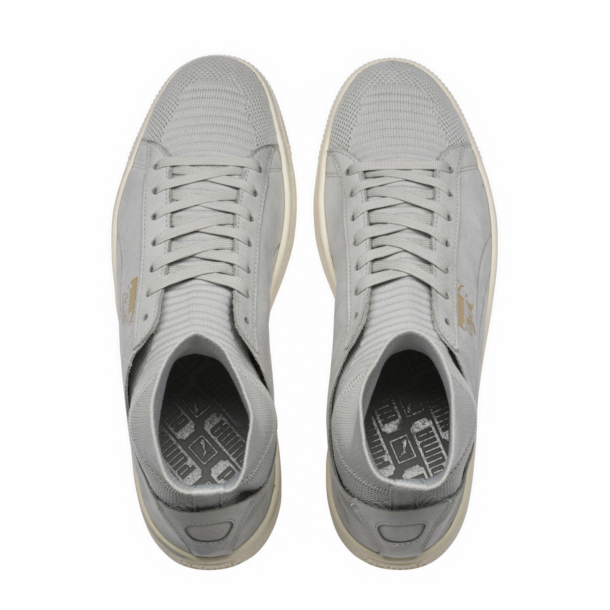 08e518bda793 Lyst - PUMA Clyde Sock Men s Sneakers in Gray for Men
