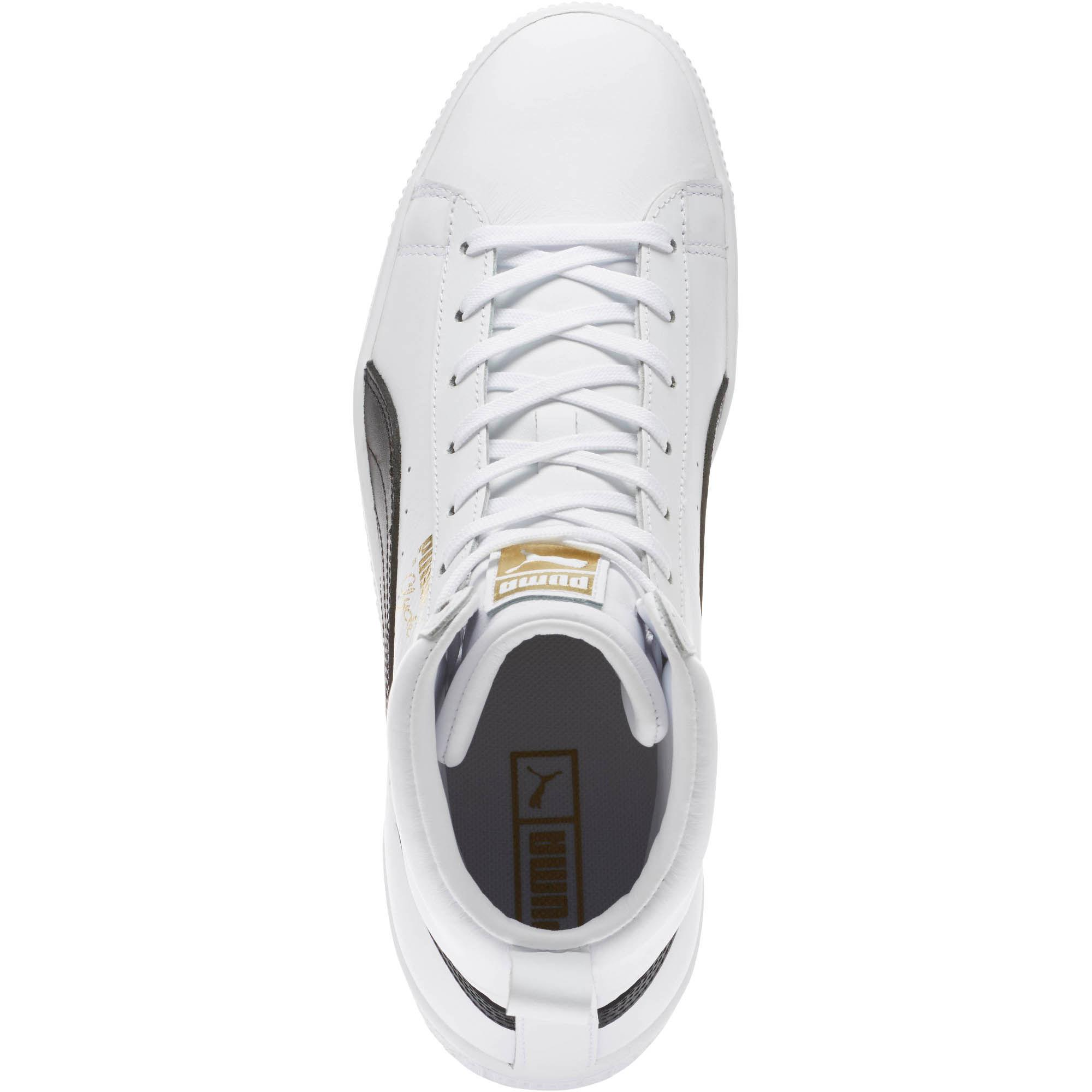 0e69af724587 Lyst - PUMA Clyde Core Mid Sneakers in White for Men