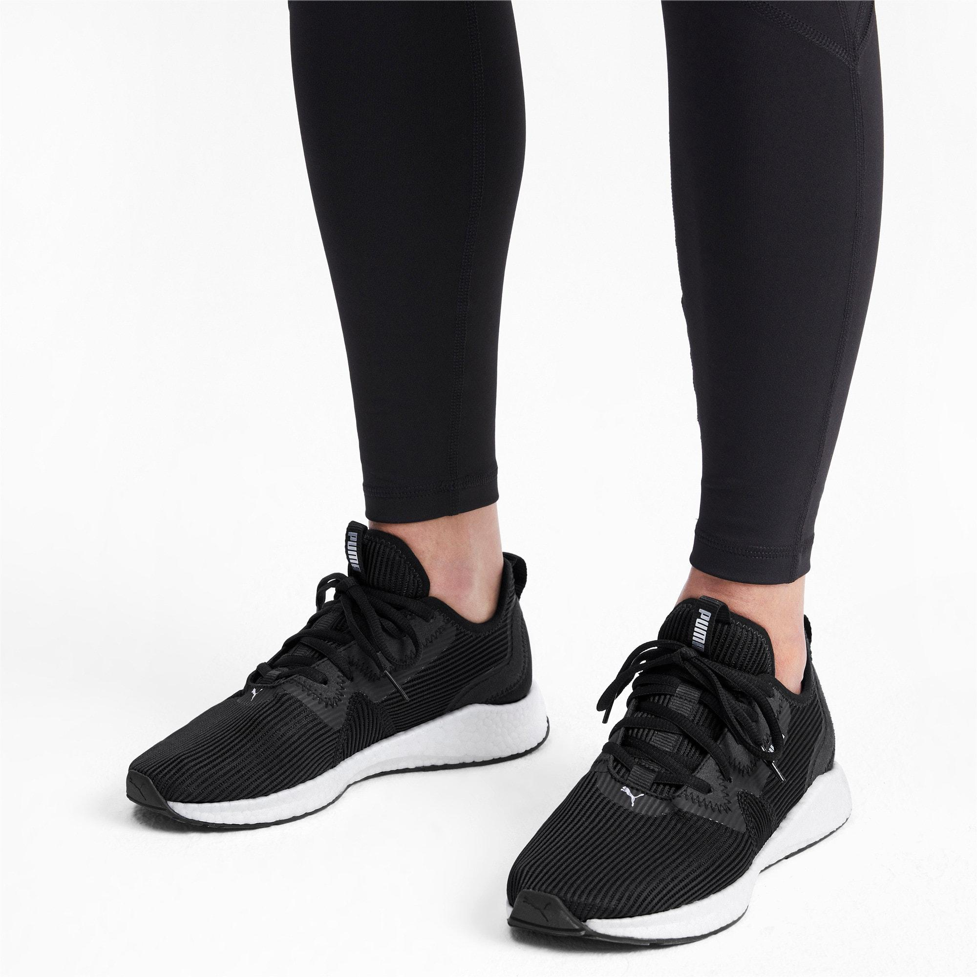 PUMA Rubber Nrgy Star Femme Women's Running Shoes in Black-Silver ...