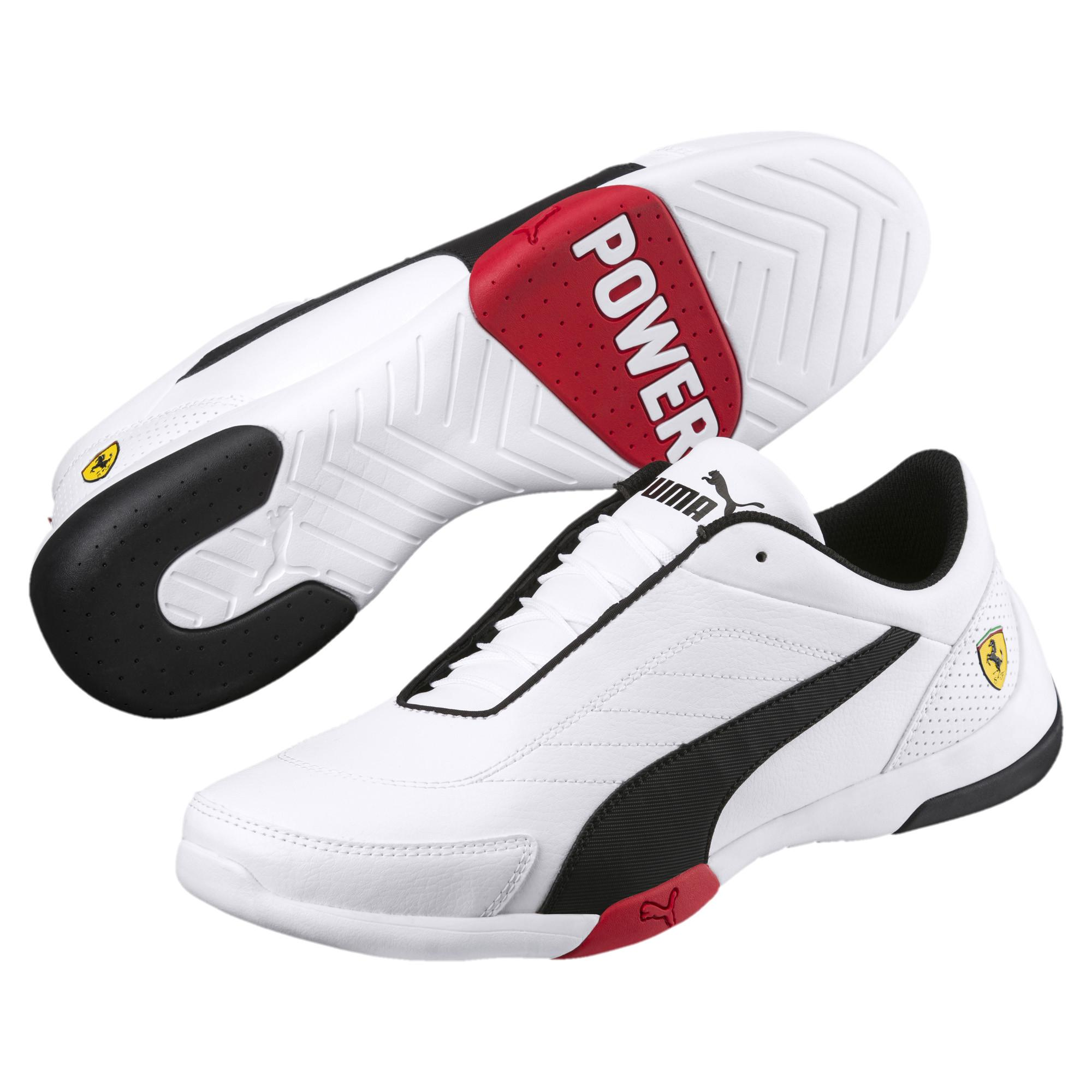86e693d62bf975 PUMA - White Scuderia Ferrari Kart Cat Iii Sneakers for Men - Lyst. View  fullscreen