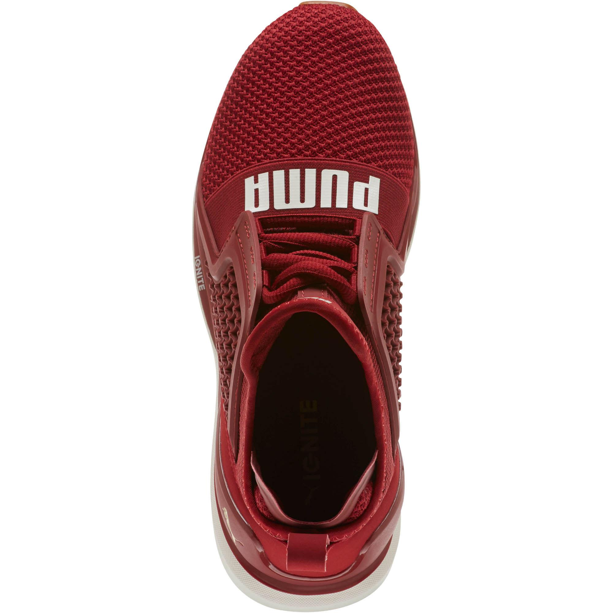 new style 9ade1 92a1e PUMA Red Ignite Limitless Weave Women's Running Shoes