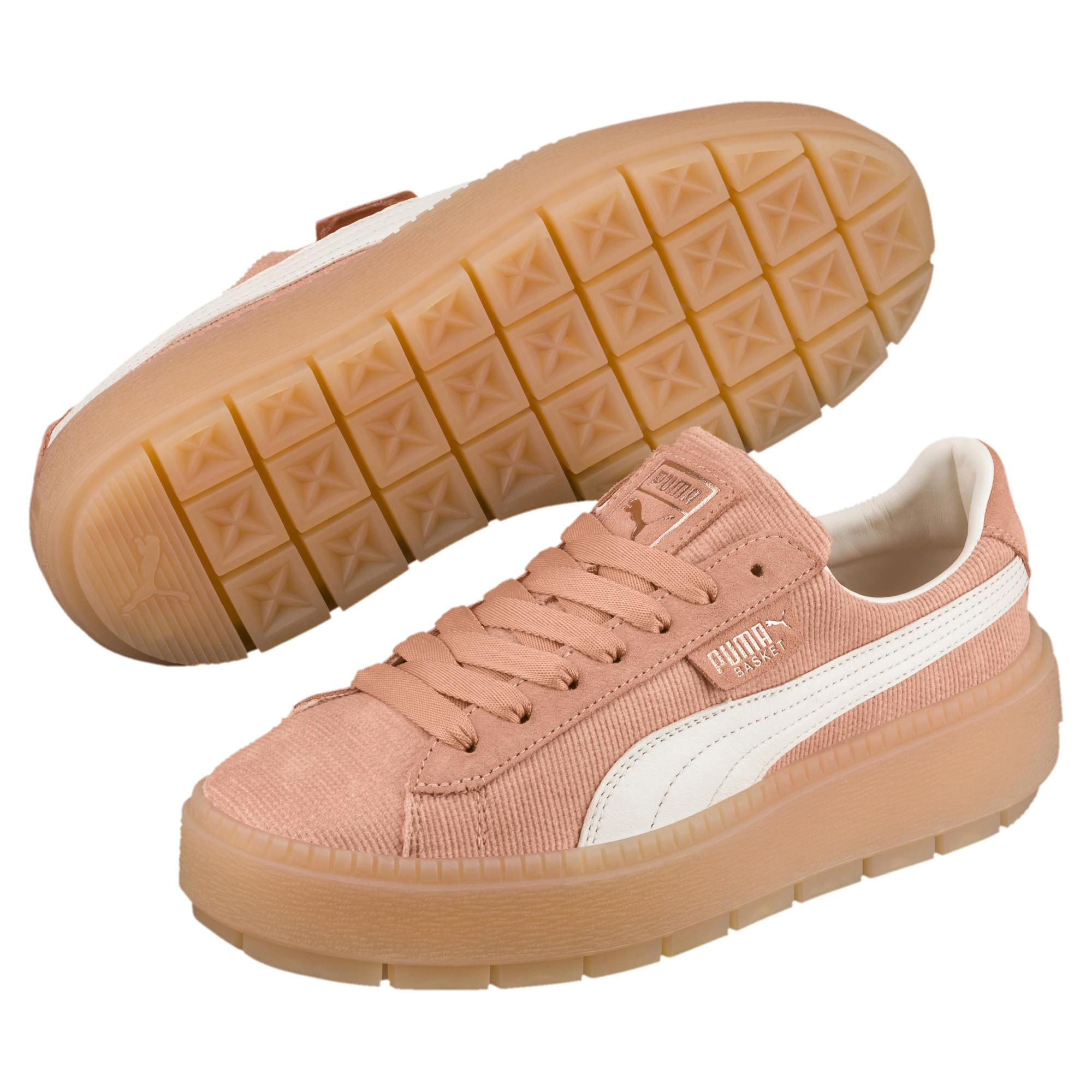 8af669bc2f22 PUMA - Multicolor Platform Trace Corduroy Women s Sneakers - Lyst. View  fullscreen